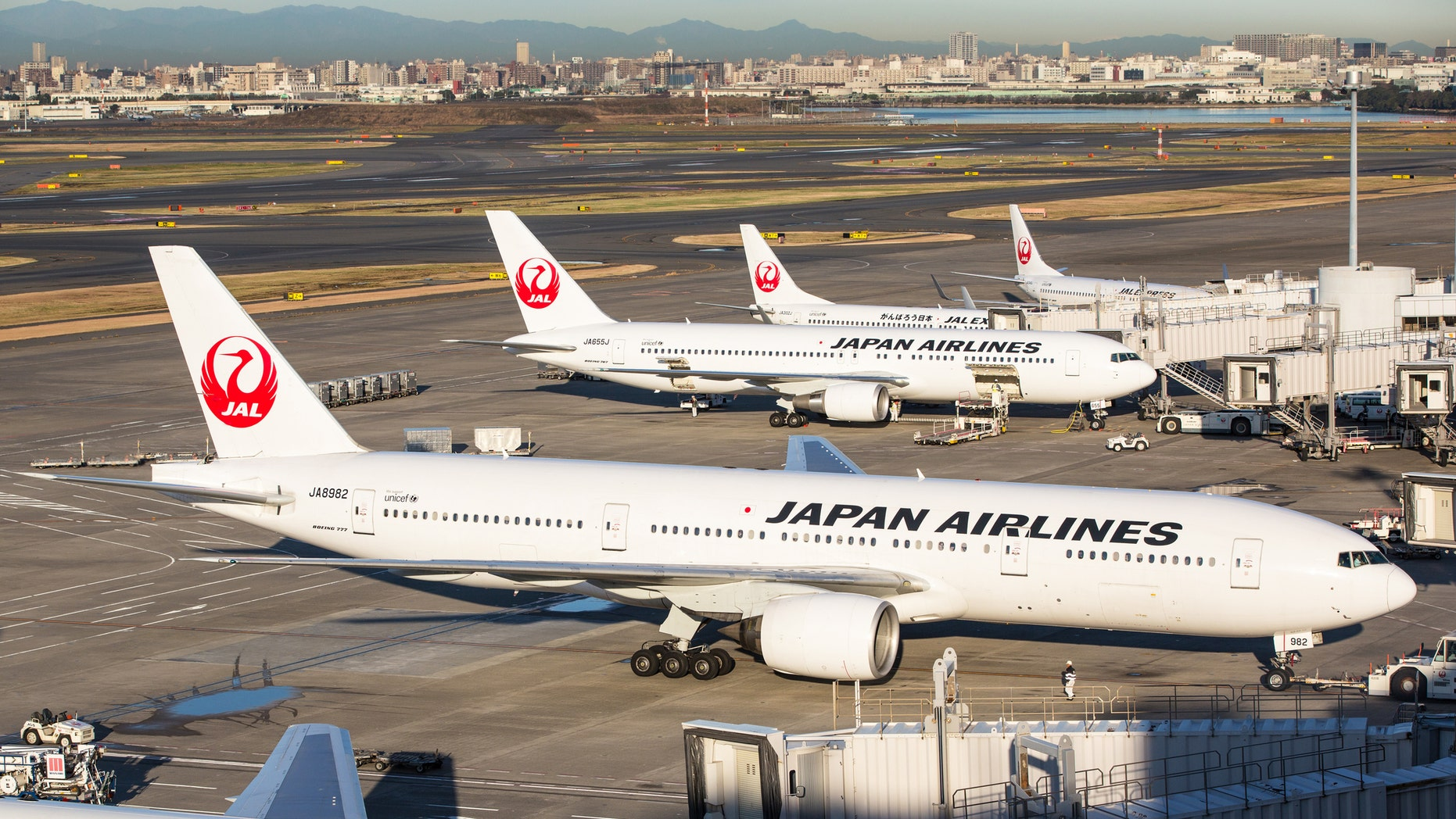 Katsutoshi Jitsukawa was arrested Sunday at Heathrow Airport for violating British aviation law.