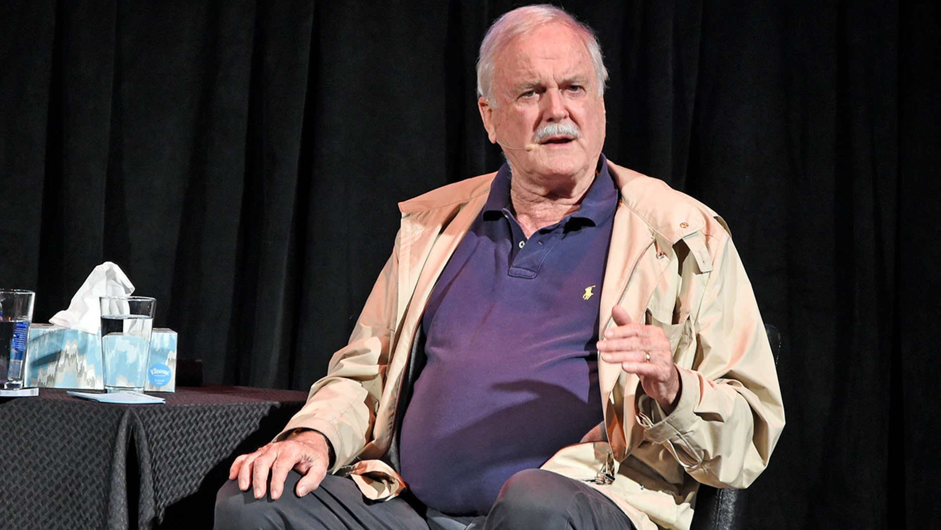 John Cleese upset fans by tweeting a joke about the California wildfires.