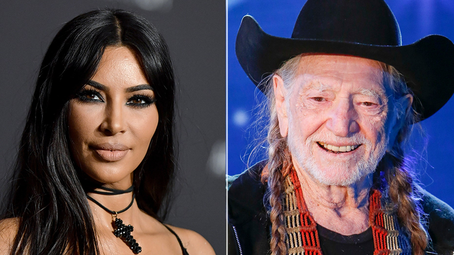 Kim Kardashian and Willie Nelson headed to the polls on Tuesday to cast their votes for the midterm elections.