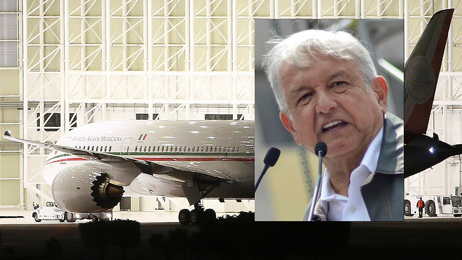 """It's not just an efficient, modern plane — it's a comfy plane, with a bedroom, a restaurant, with lots of space,"" incoming President Andrés Manuel López Obrador said of the presidential Boeing 787-8 Dreamliner he vows to never use."