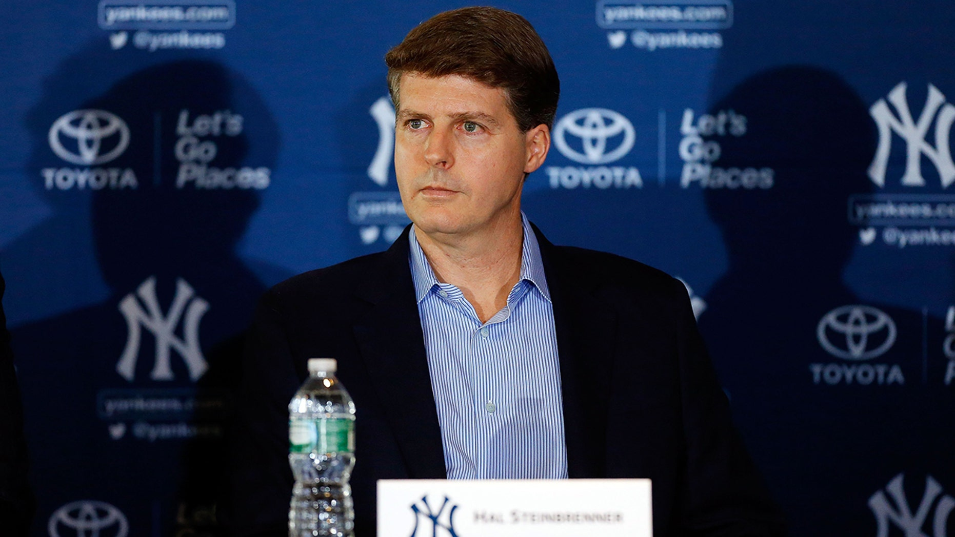 Yankees owner Hal Steinbrenner expressed his frustration with the Red Sox.