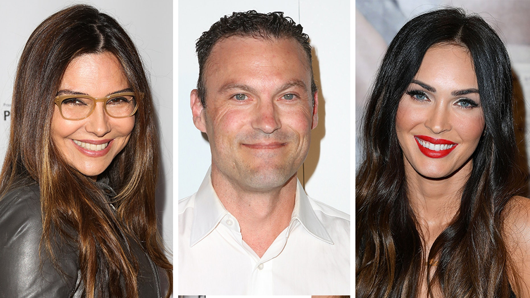 Vanessa Marcil, left, is speaking out about her custody battle with ex Brian Austin Green and his wife, Megan Fox, right.