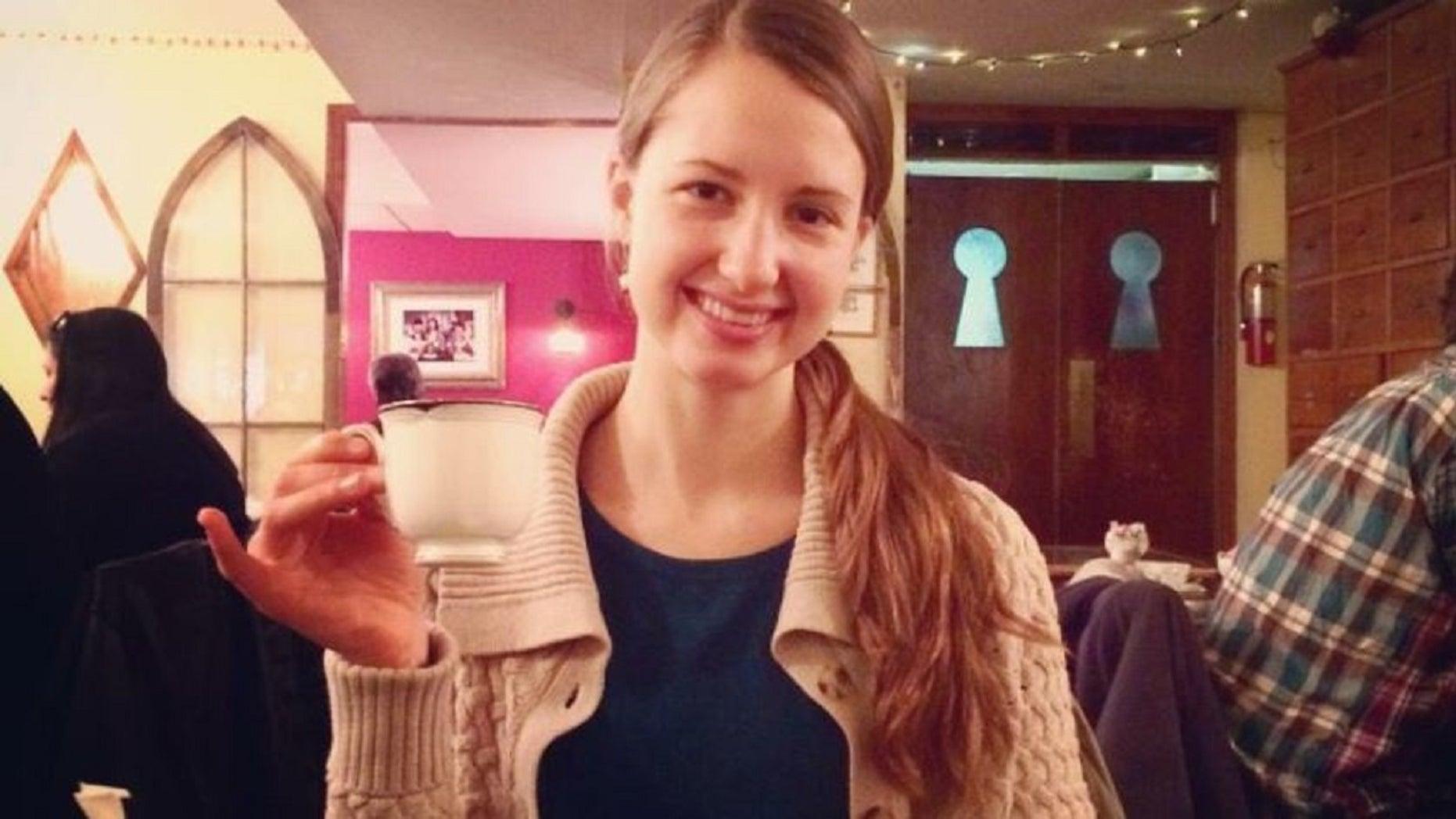 Raffaella Maria Stroik, 23, of the St. Louis Ballet was last seen Monday, authorities say.