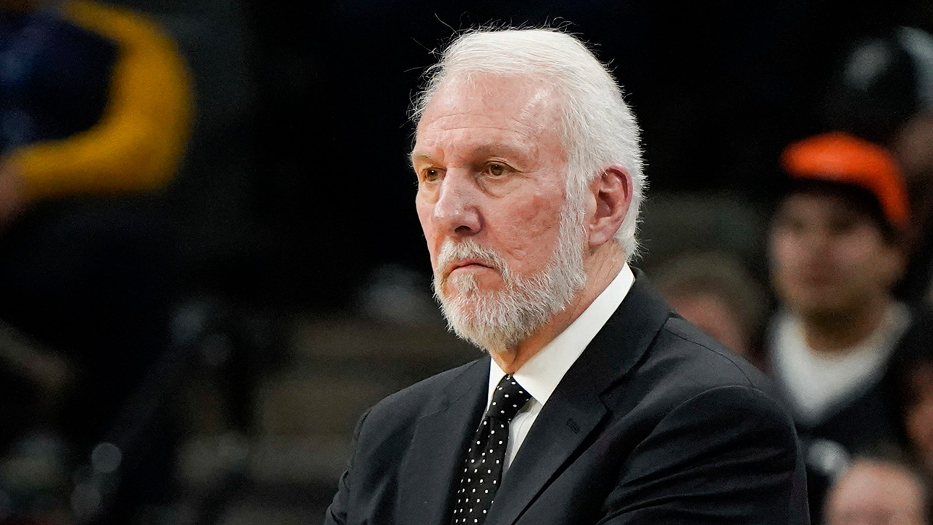 San Antonio Spurs head coach Gregg Popovich said he would support Beto O'Rourke in his Senate race against Ted Cruz.
