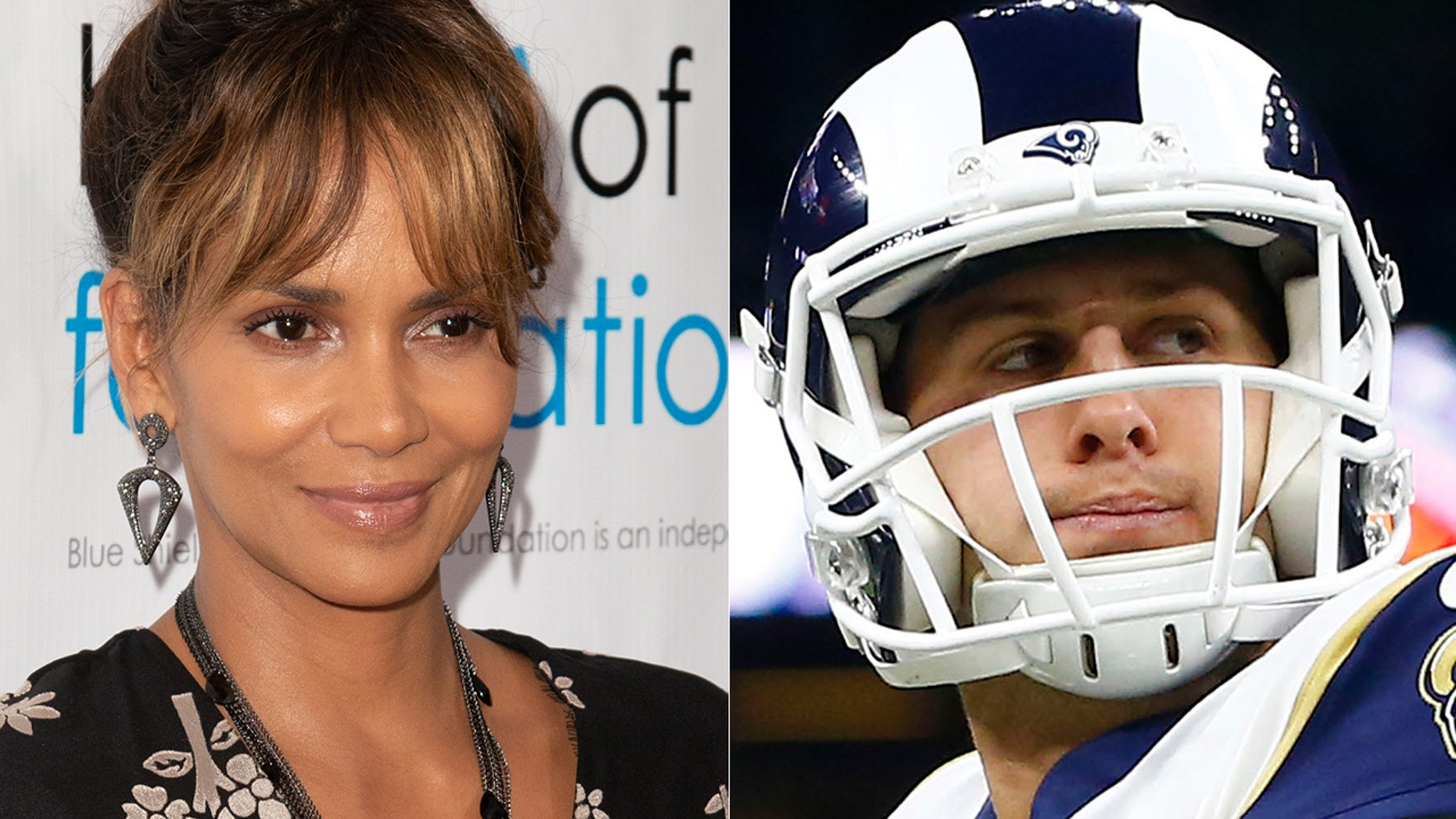 Halle Berry is all about Rams audible named after her