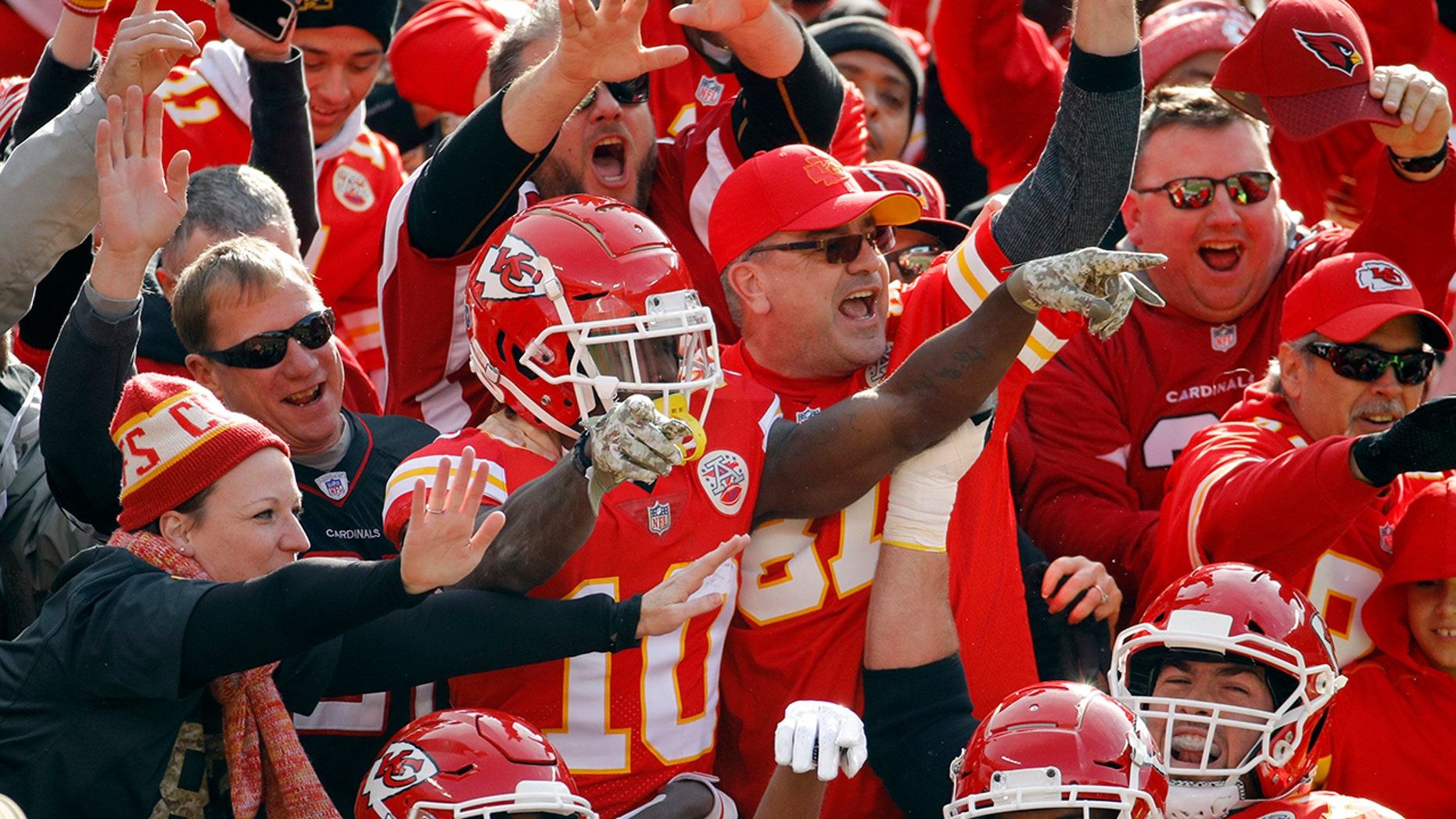 Kansas City Chiefs fans were upset over the NFL's decision to move their game with the Los Angeles Rams to Los Angeles from Mexico City.