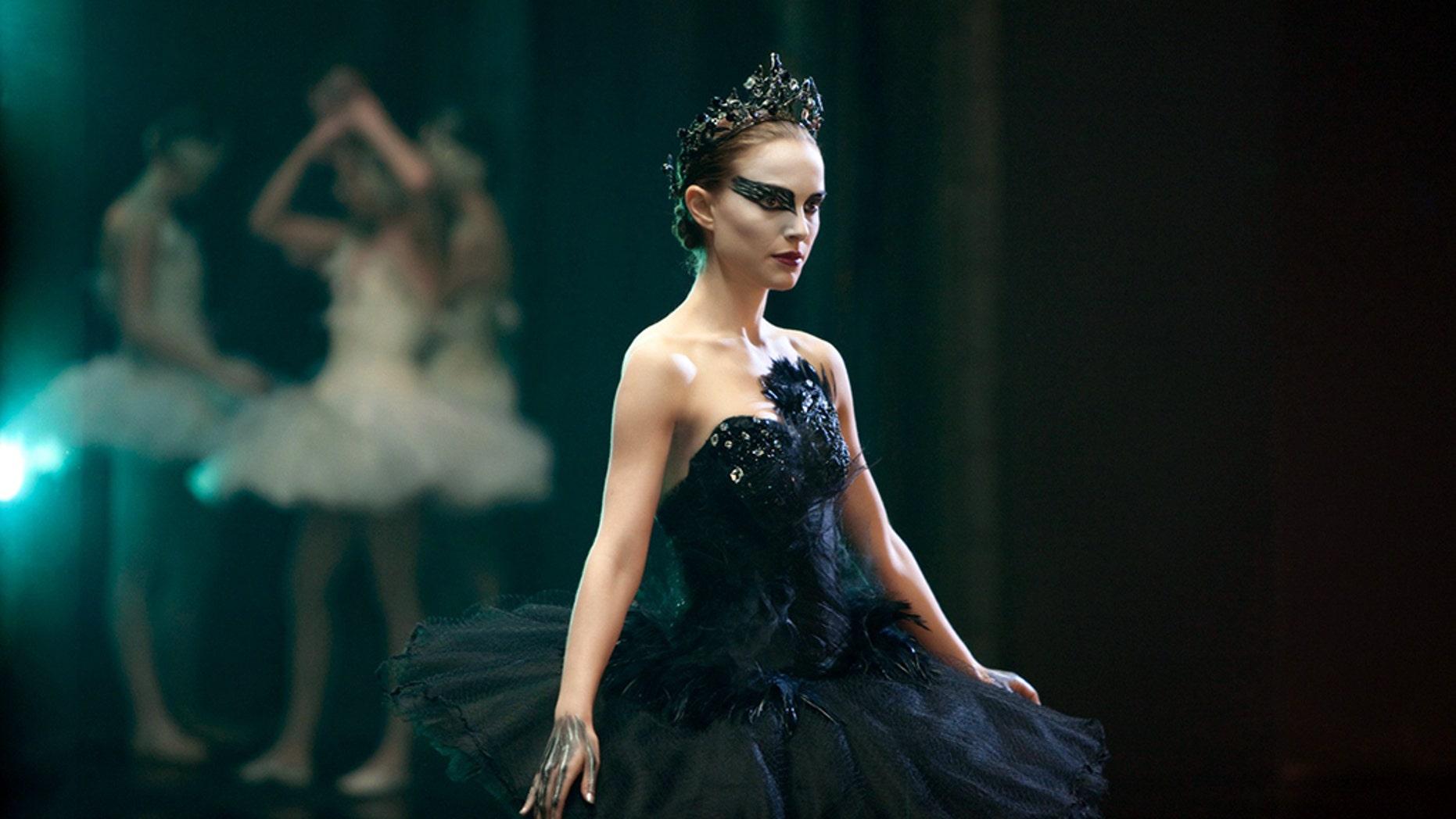 "Natalie Portman in the ""Black Swan."""