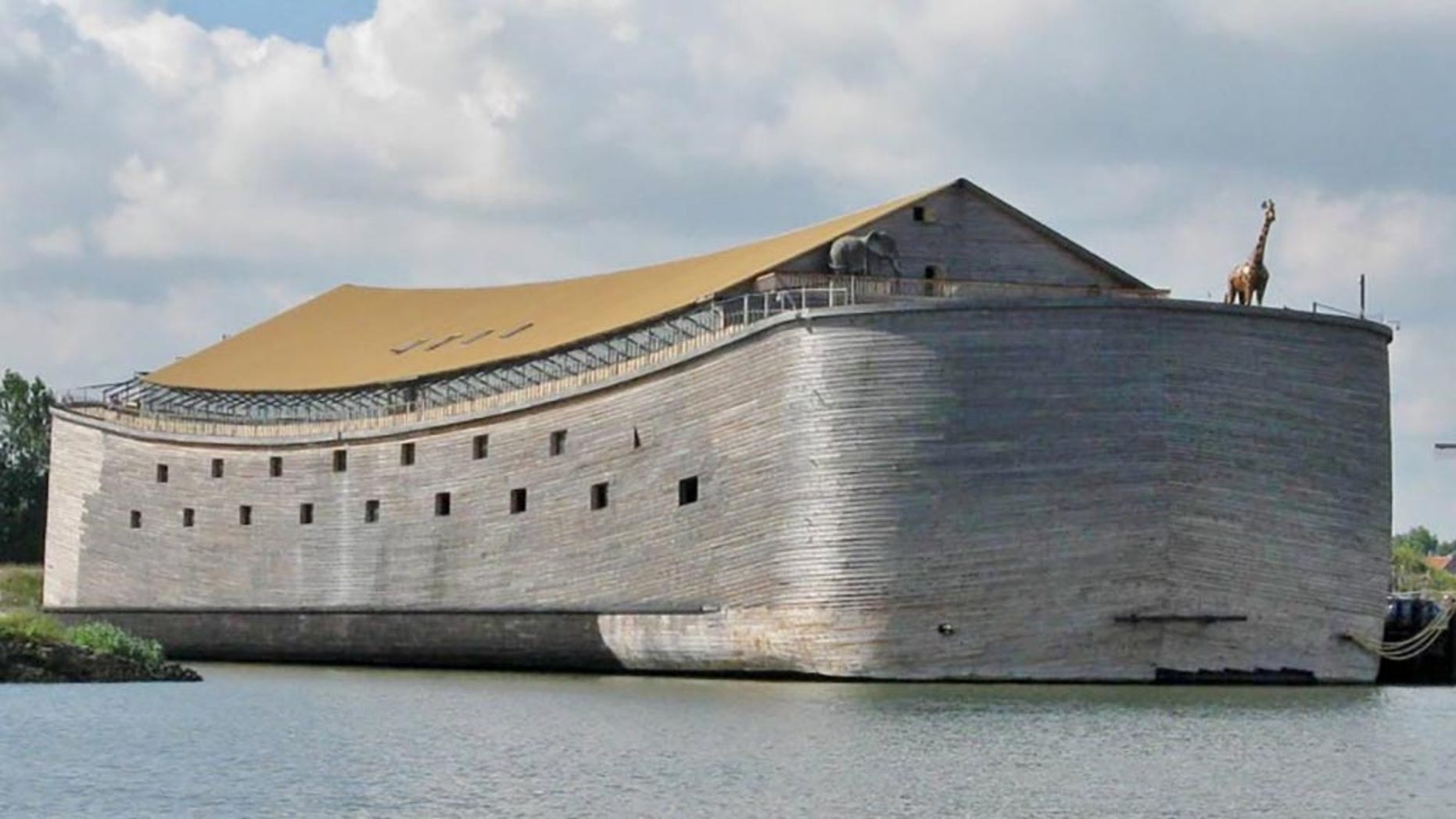 Johan Huibers' Noah's Ark cost him close to $5 million to complete.