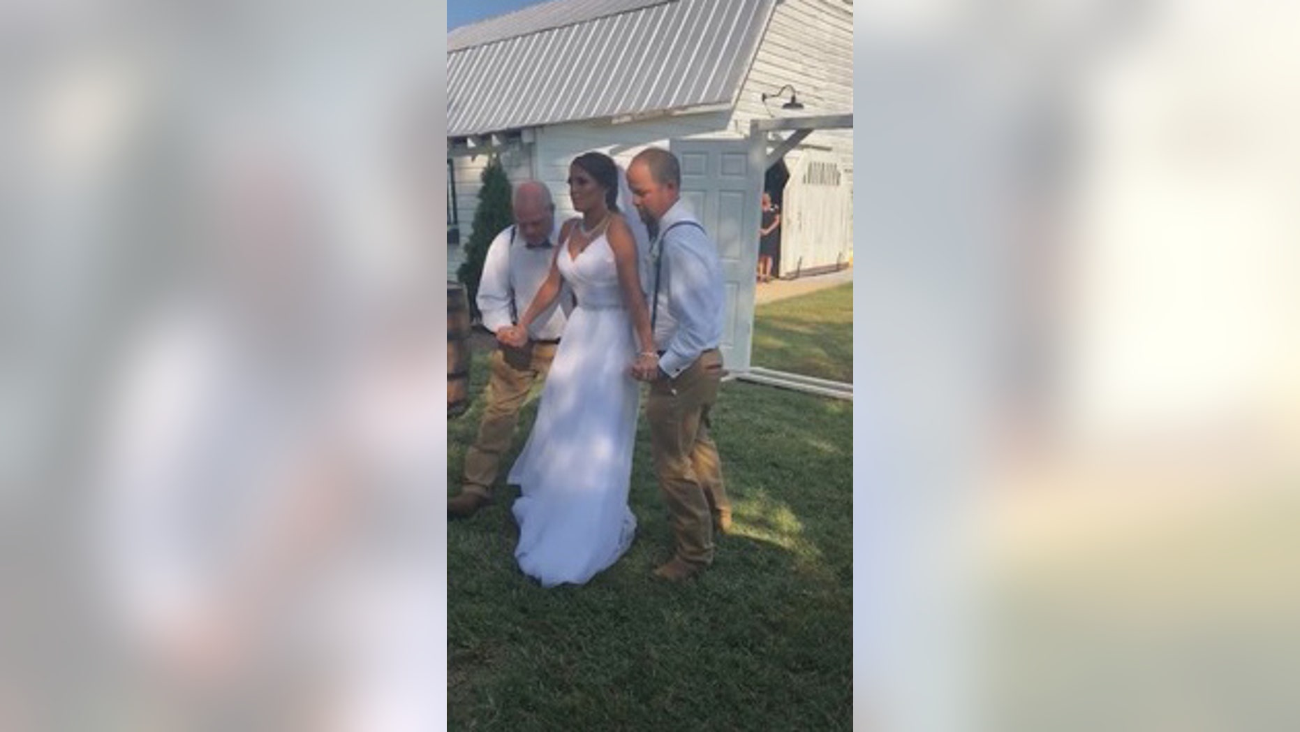 Paralyzed Bride Walks Down Aisle 3 Years After Horrific
