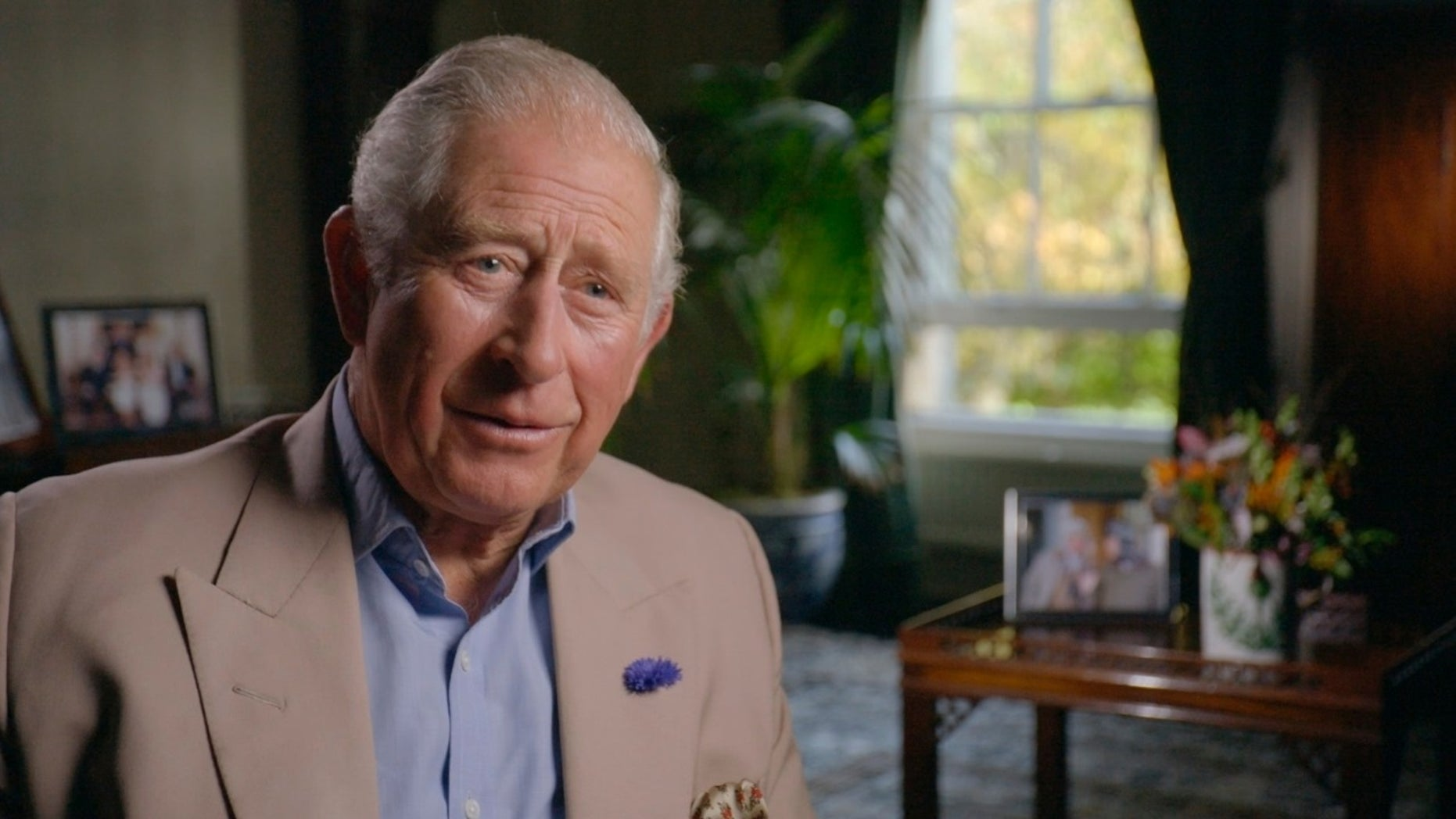Prince Charles said he would keep his views to himself when he is king.