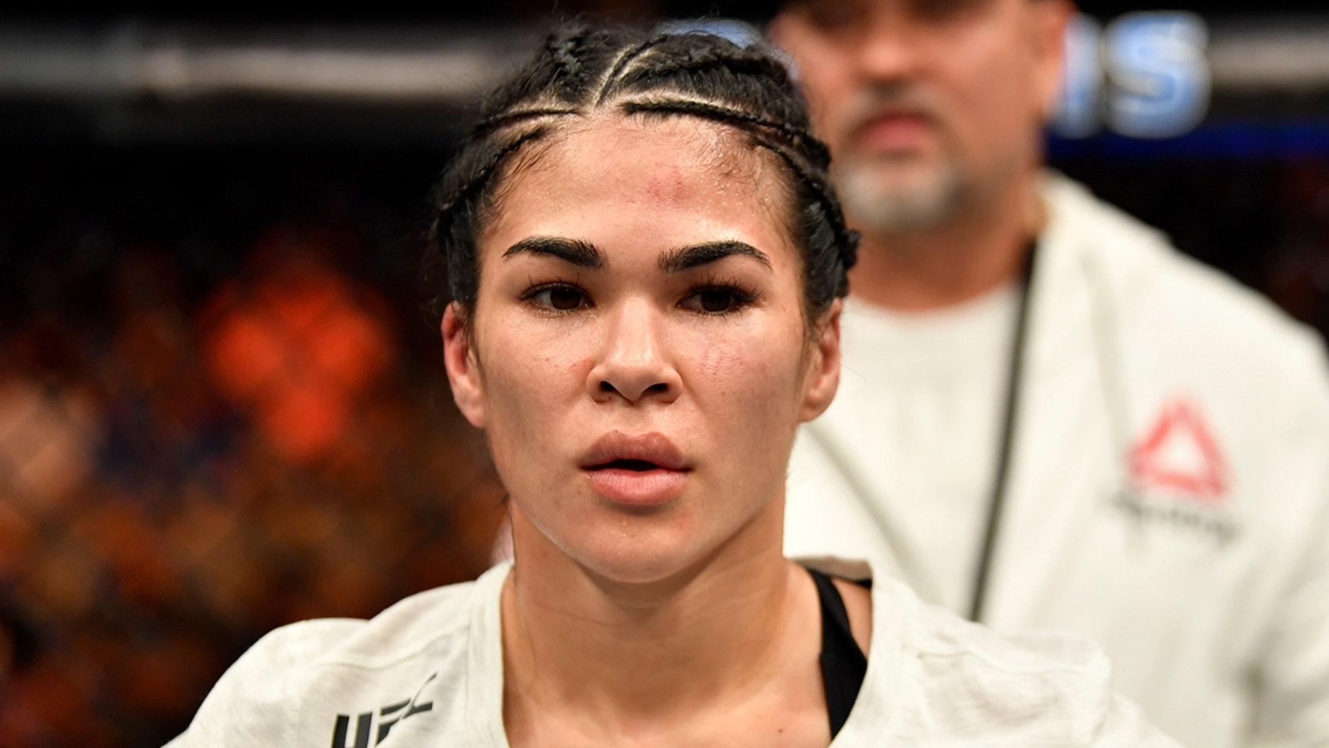 Rachael Ostovich will miss her upcoming fight after having her orbital bone broken.