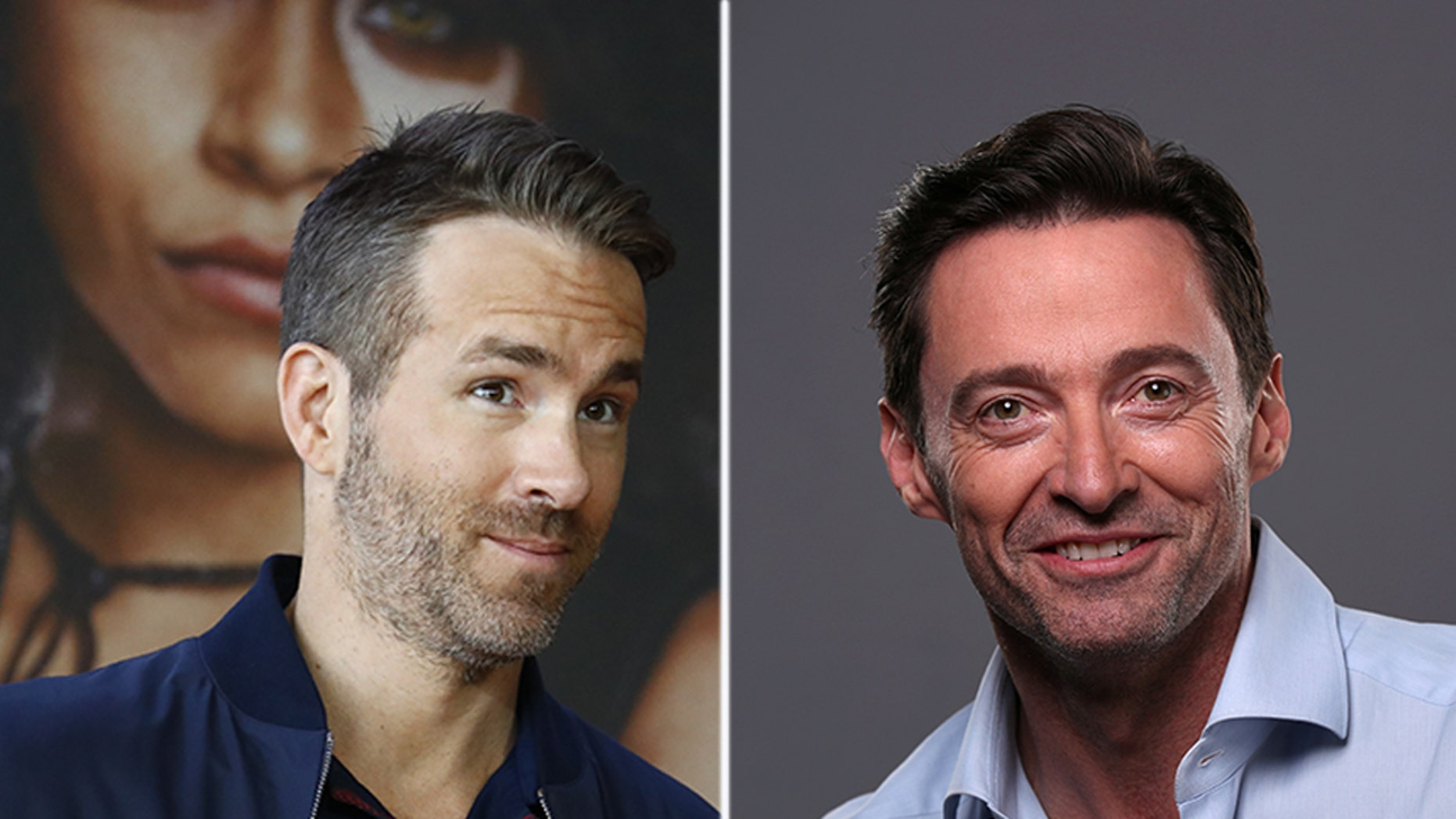"""Hugh Jackman once again appears to be a concentration of associate actor Ryan Reynolds' jokes, after a """"Deadpool"""" star expelled a ridicule domestic ad about him."""