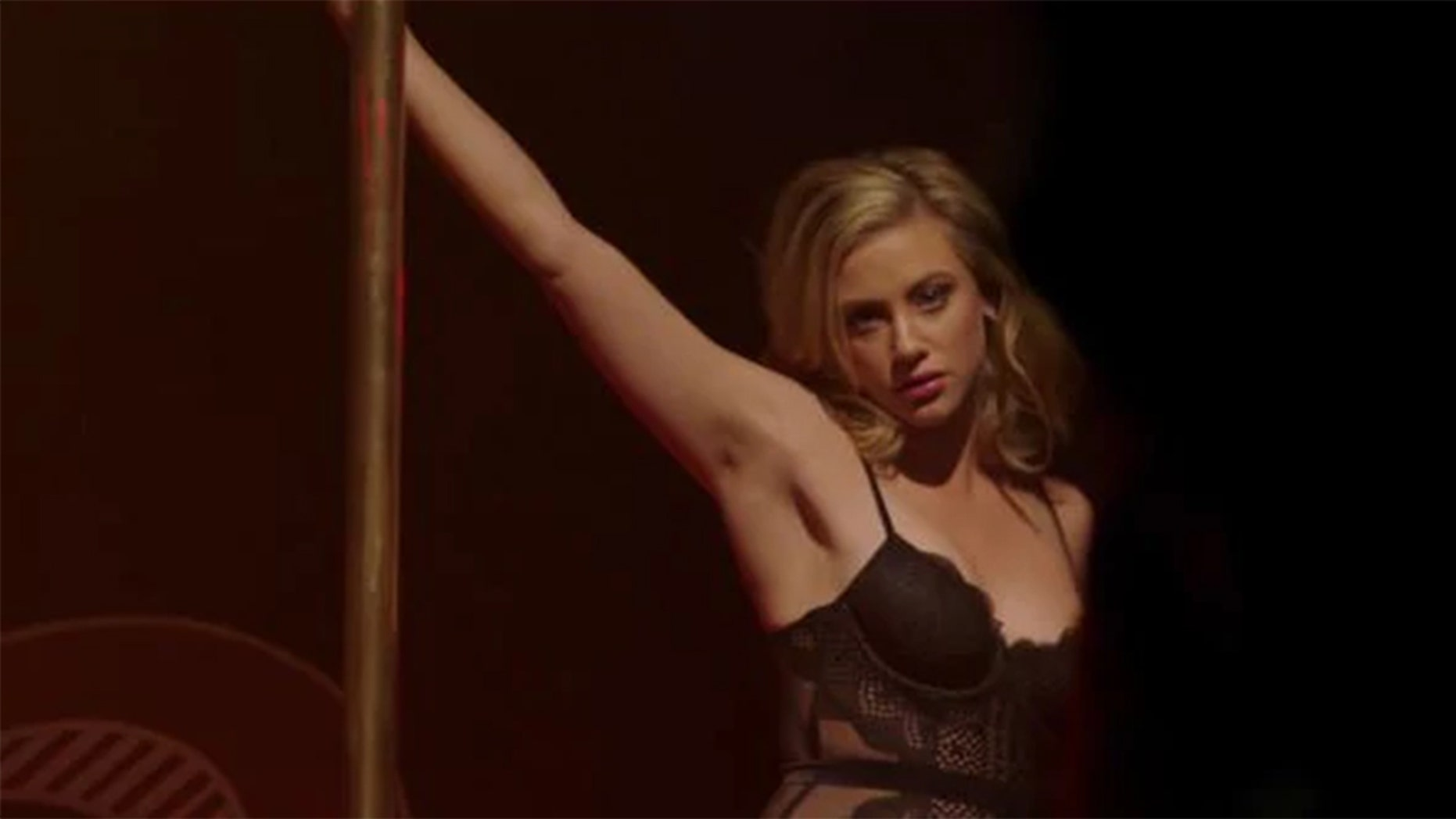 """Lili Reinhart as her character Betty Cooper, in the show """"Riverdale,"""" talks about her controversial striptease scene in the show."""
