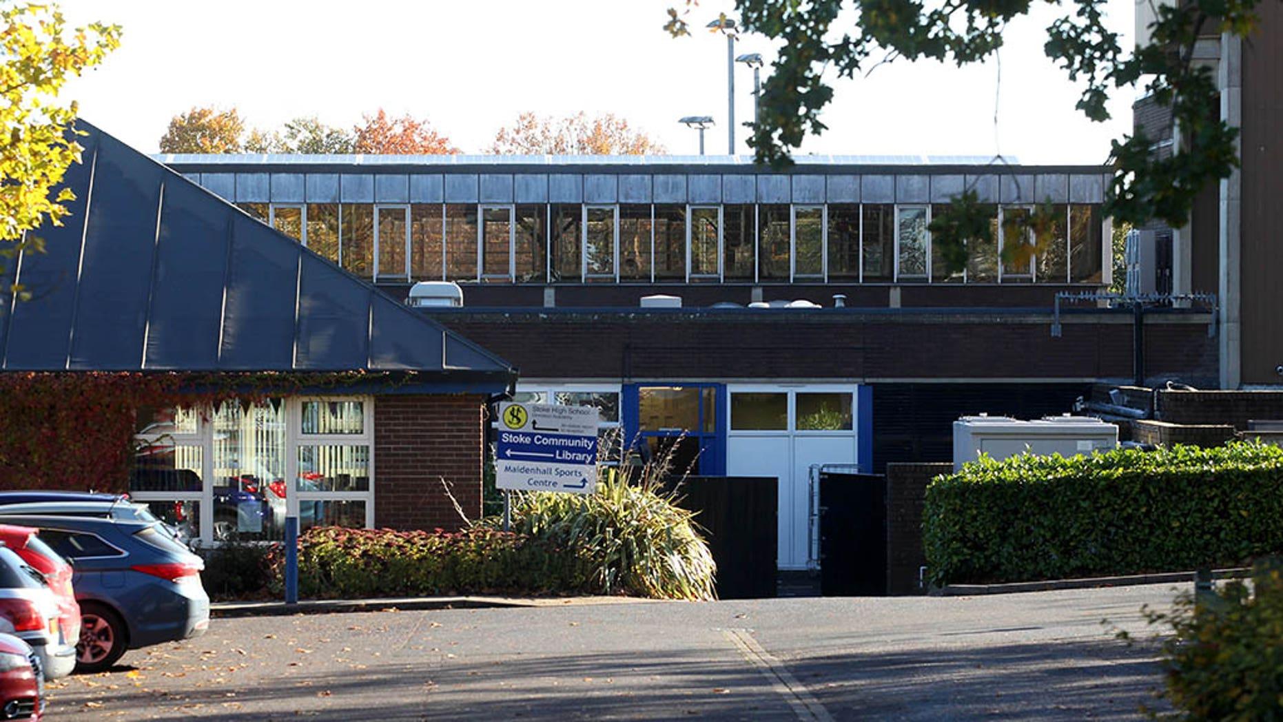 Stoke High School in Ipswich, Suffolk.