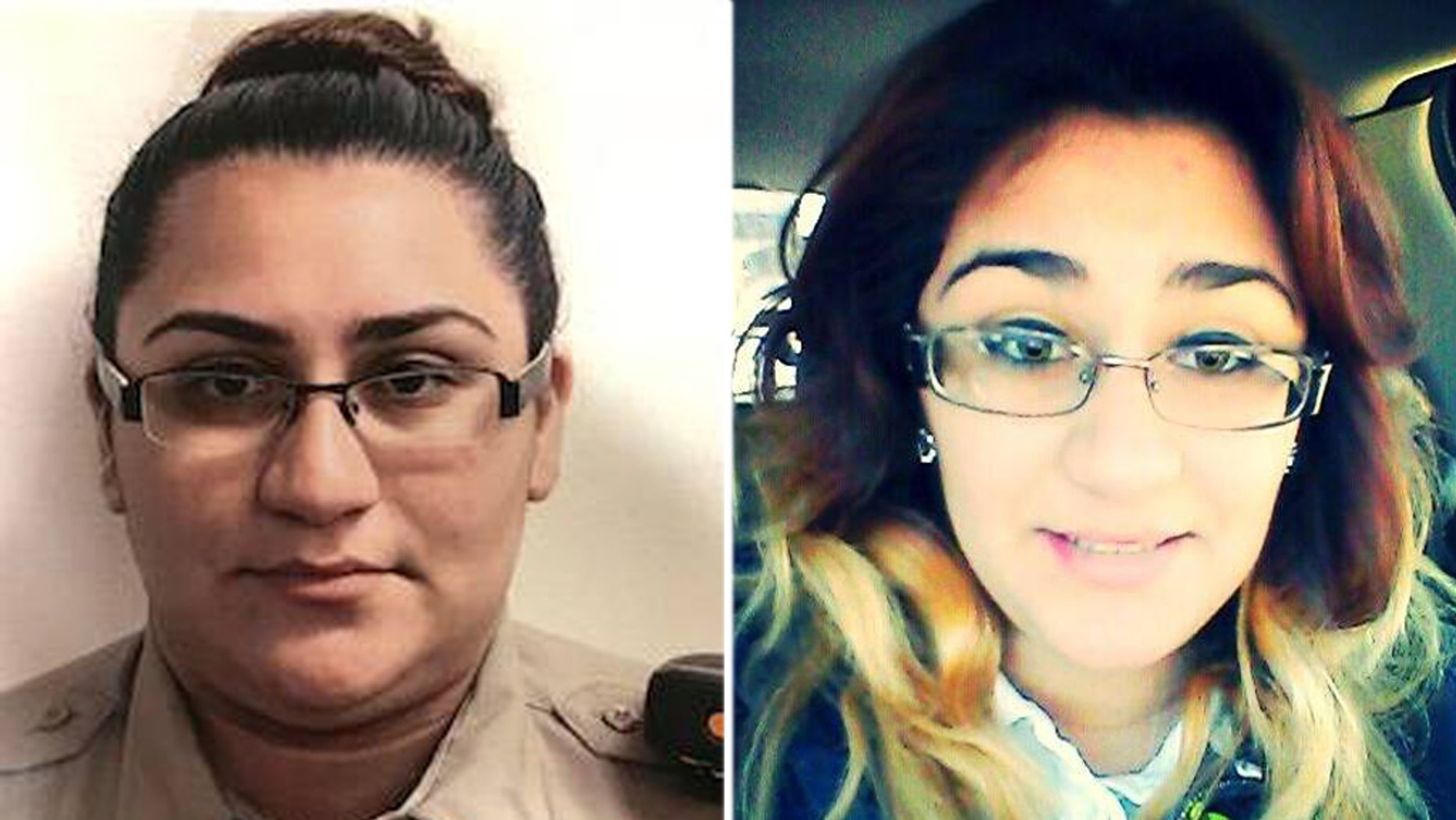 Texas sheriff's deputy Loren Vasquez, 23, died after her patrol car flipped into a water-logged ditch.
