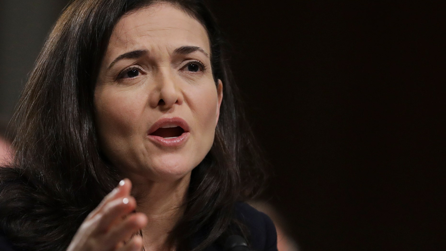 Facebook chief operating officer Sheryl Sandberg is seen in this file photo