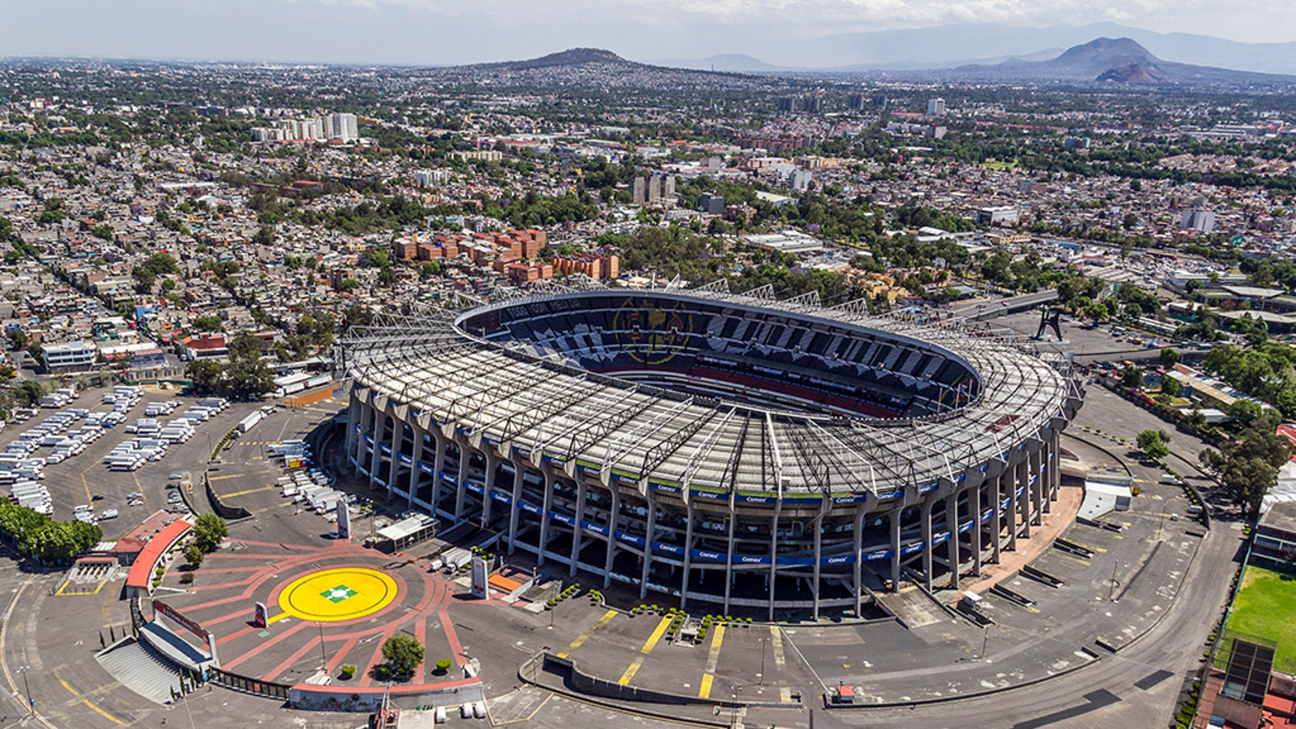 Estadio Azteca in Mexico City has hosted soccer matches, concerts and three regular season NFL games.