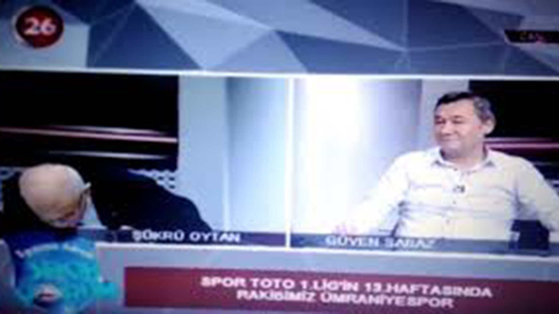 Sukru Oytan suffered a heart attack in the air.