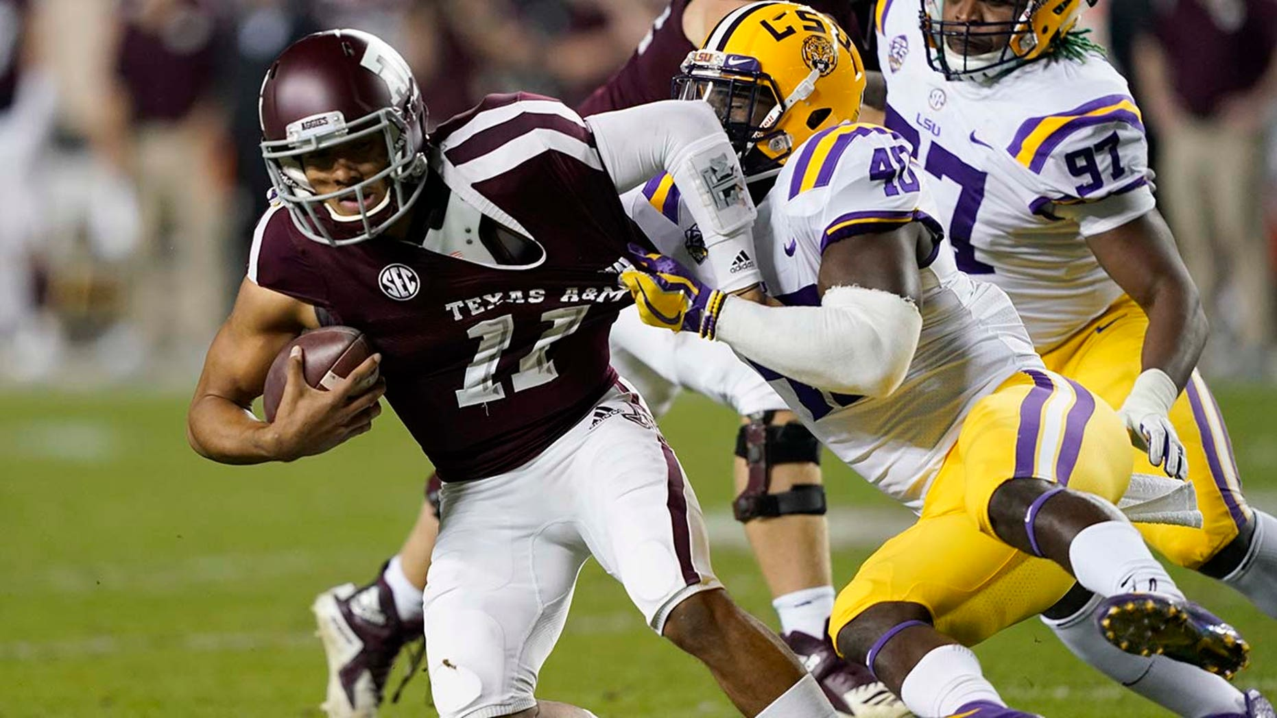 Texas A&M, LSU play 7 overtimes until Aggies win, 74-72 ...