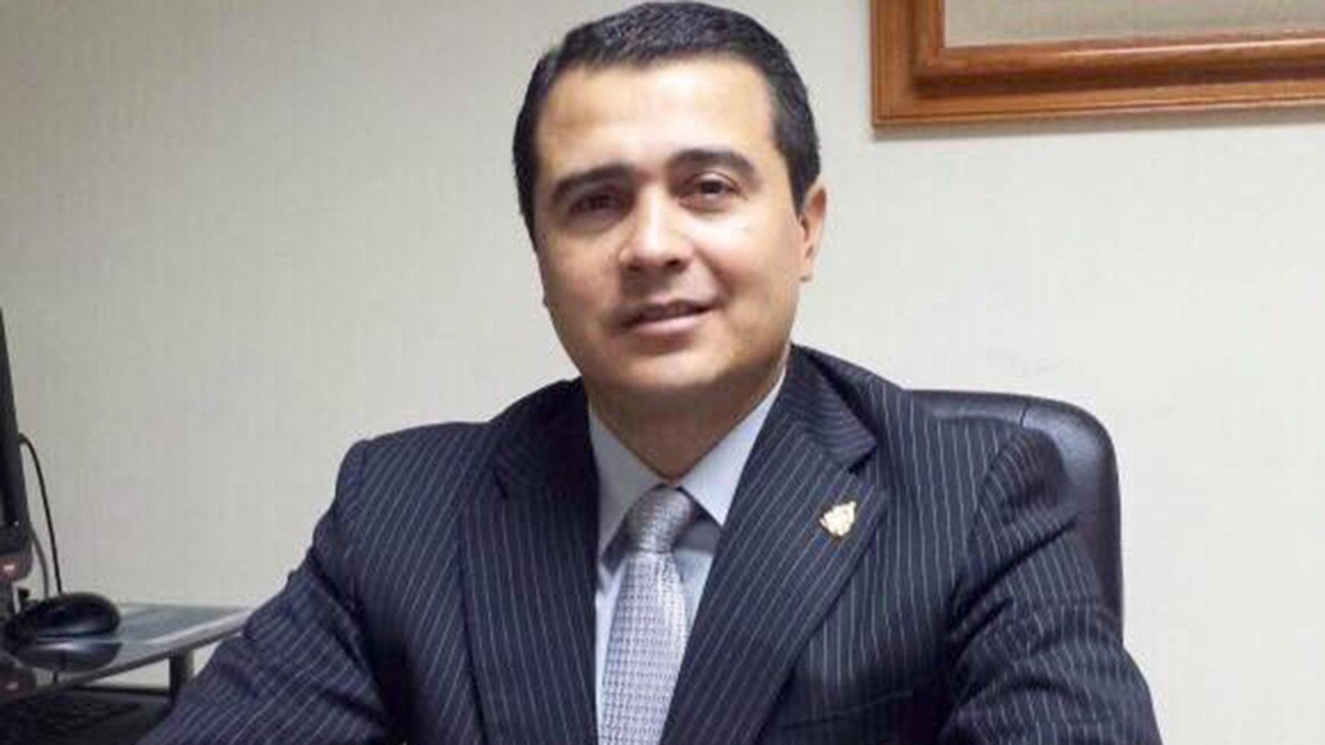 Juan Antonio Hernandez Alvarado.