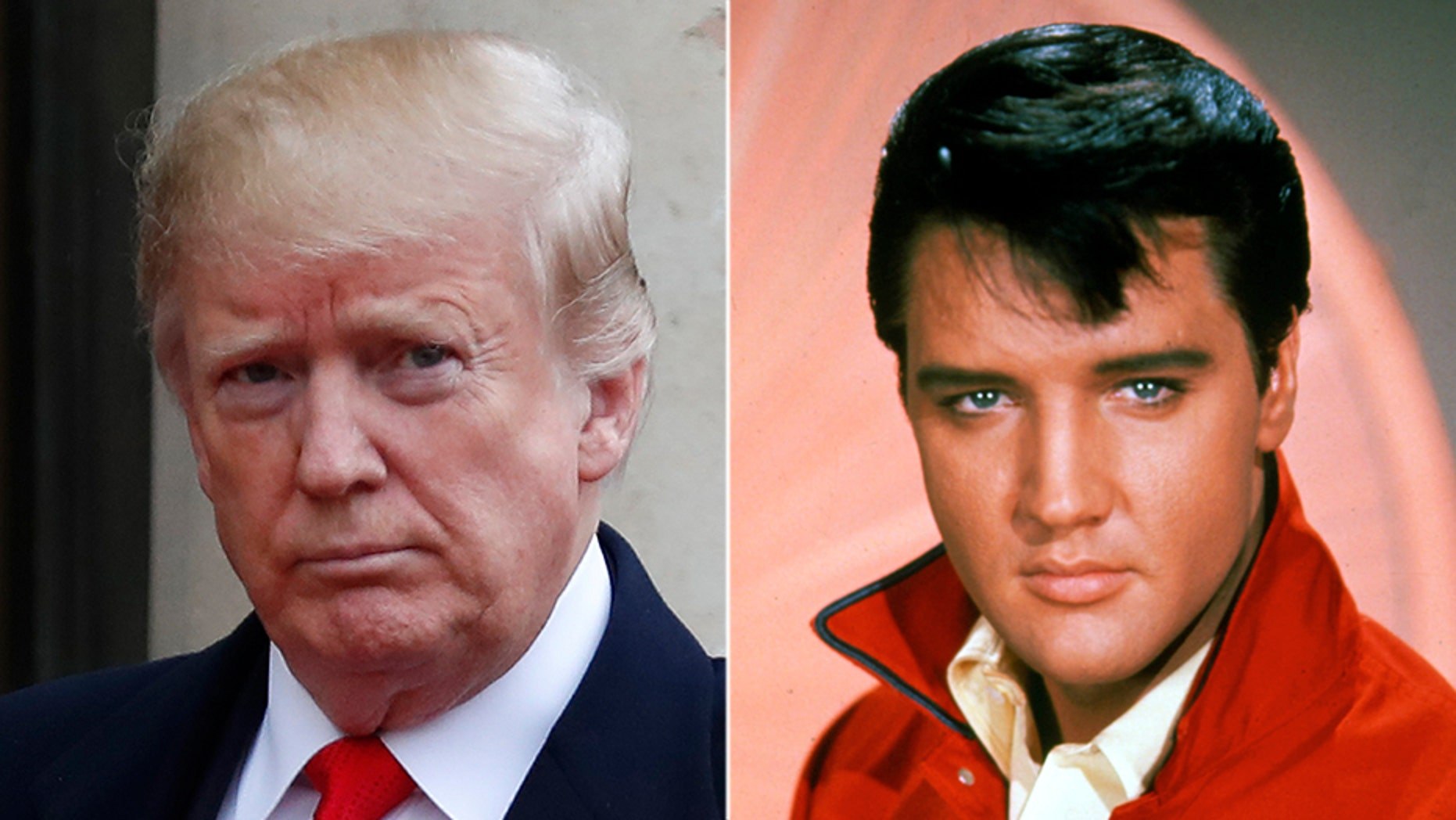 President Trump awarded the Presidential Medal of Freedom to seven Americans on Friday, including the late rock star Elvis Presley, though even that gesture is coming under fire from liberals. (Getty)<br>