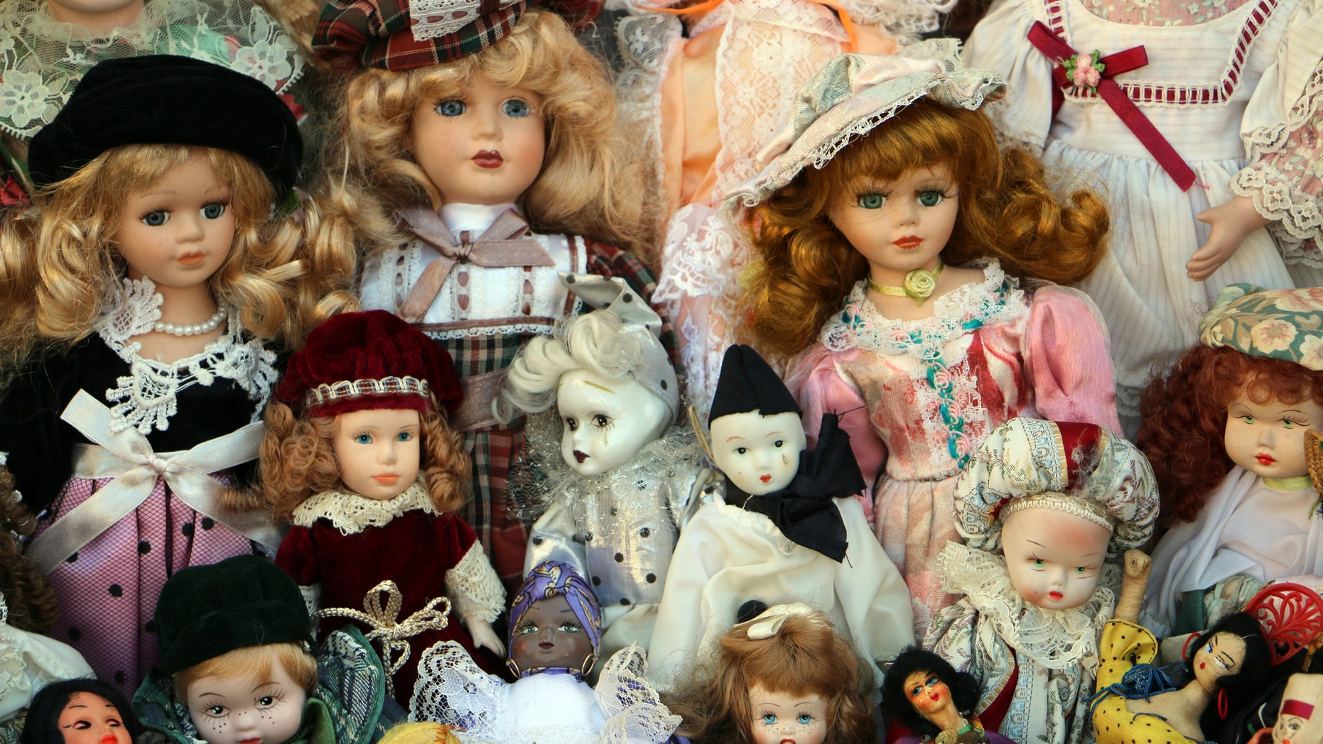 Move your old Victorian doll collection.