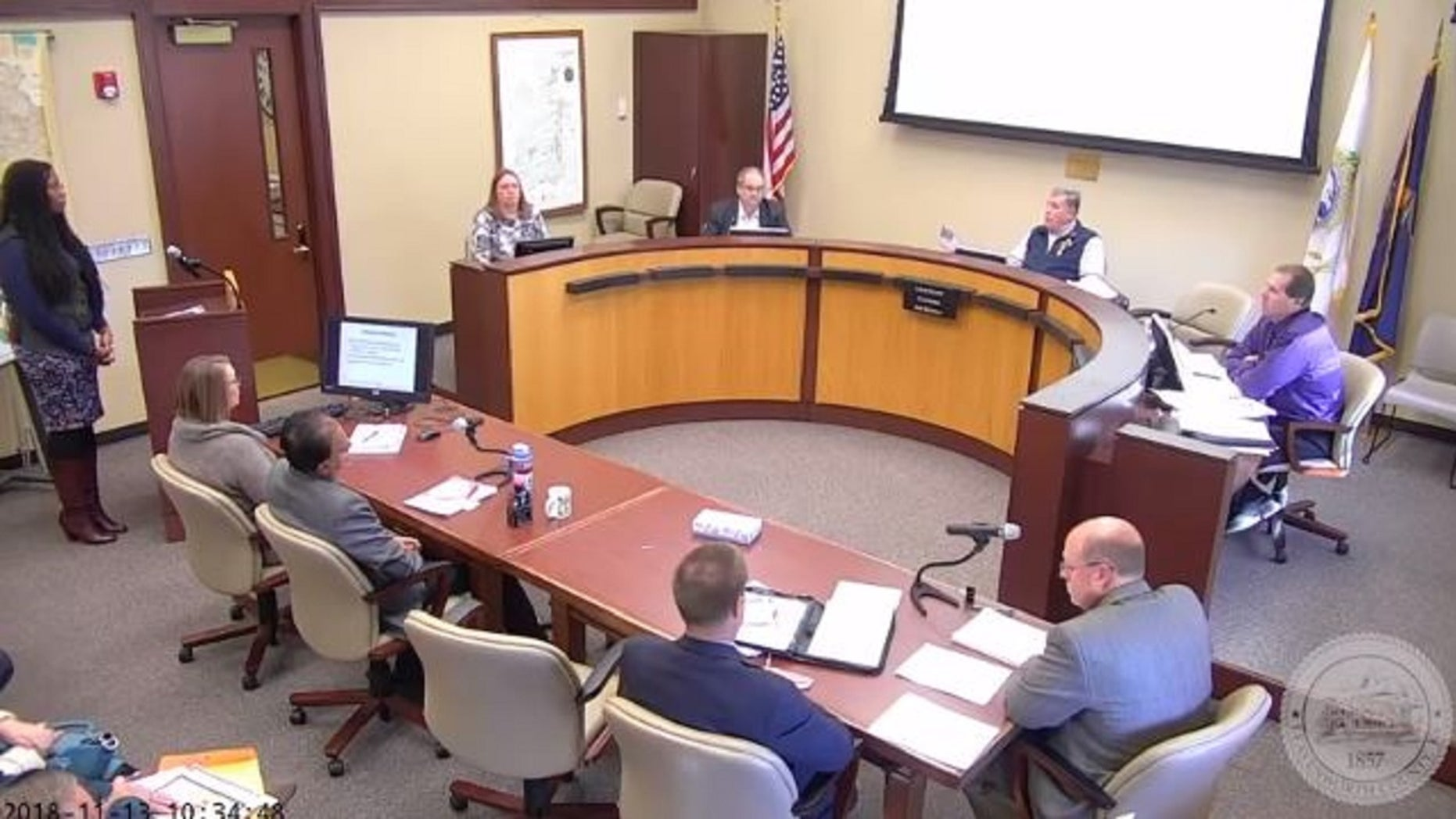 Leavenworth, Kansas County Commissioner Louis Klemp is under for racial comments he made during a meeting.