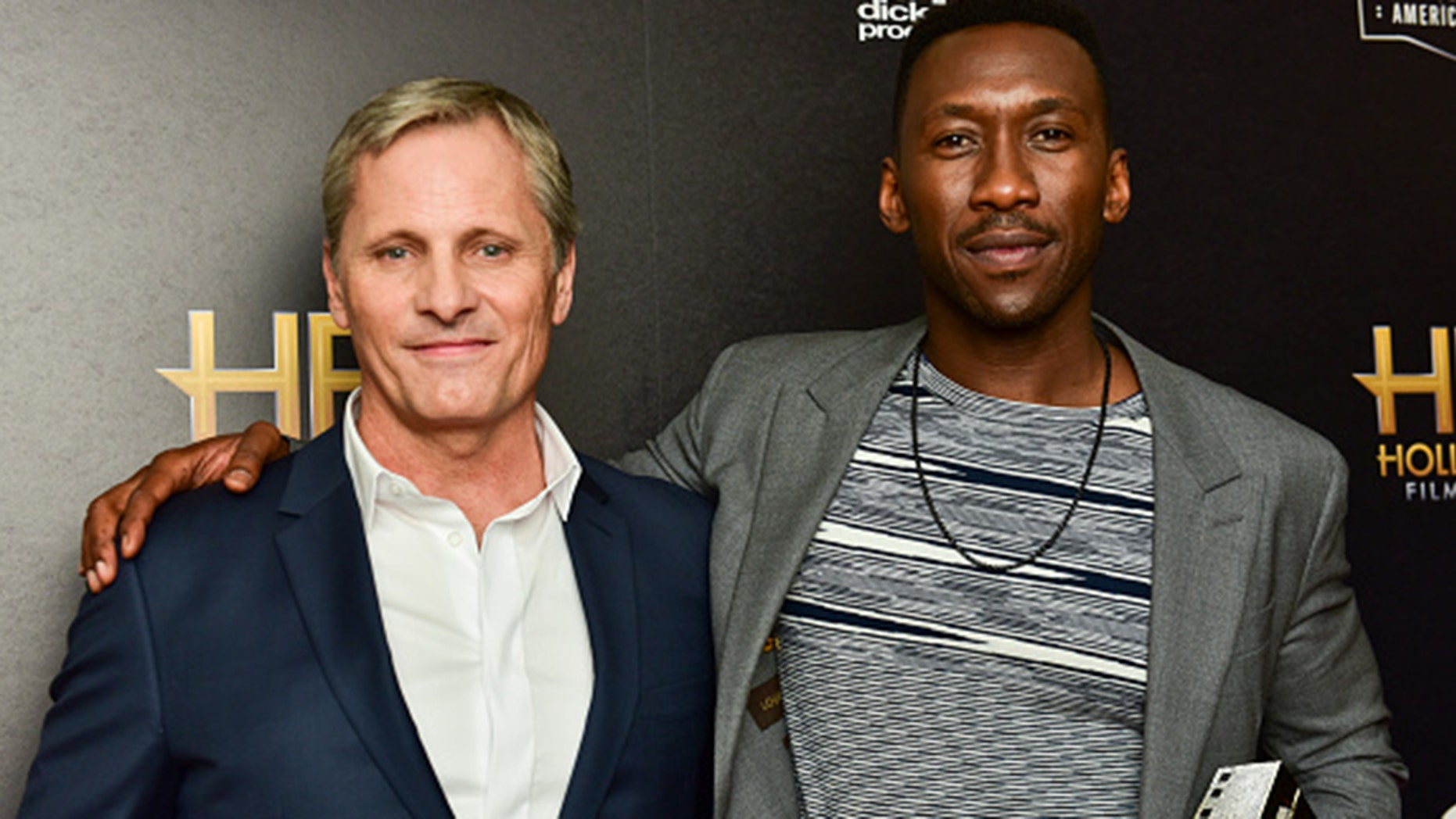 Mahershala Ali says he 'can accept'his co-star Viggo Mortensen's reparation for his use of a N-word. (Photo by Rodin Eckenroth/Getty Images)