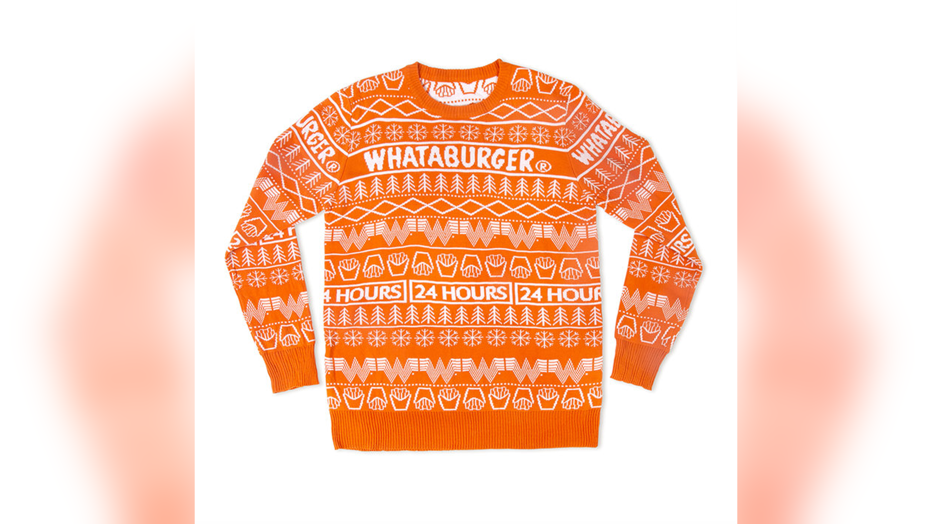 Christmas Cardigan Sweaters.Whataburger Debuts Christmas Sweater Sells Out In Less Than