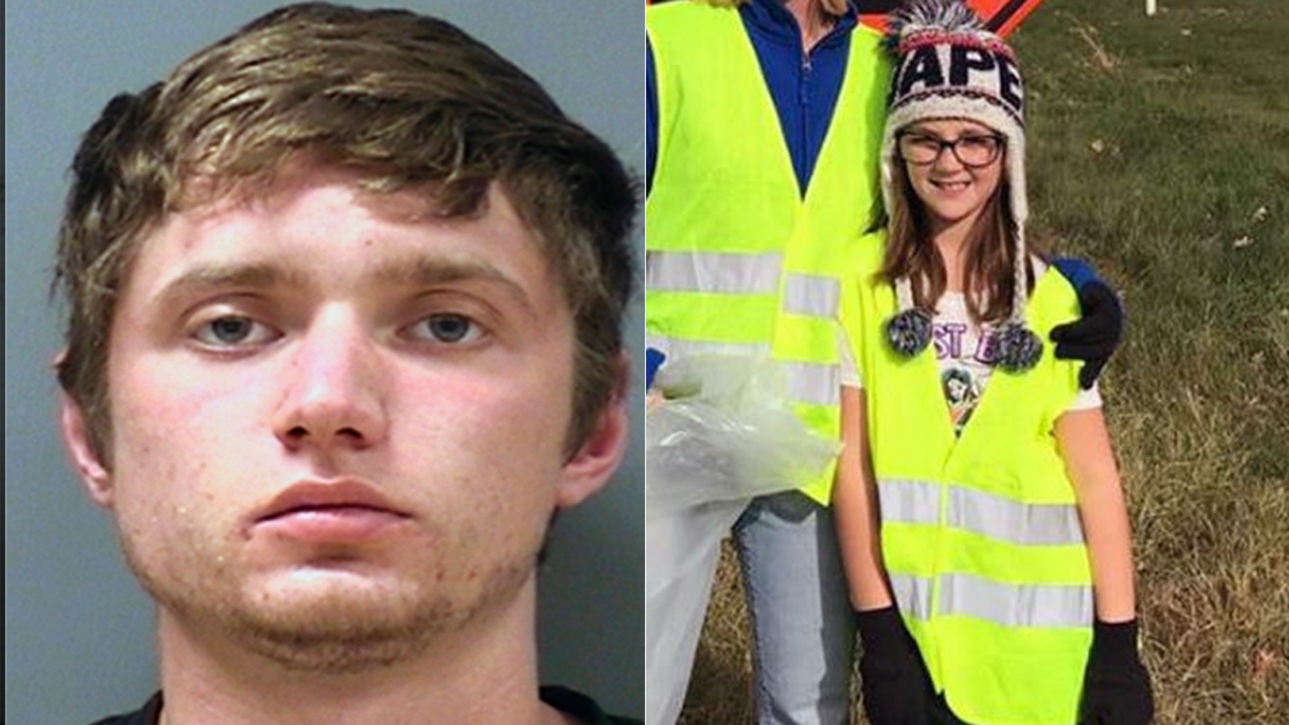 Colton Treu, left and victim Jayna Kelley