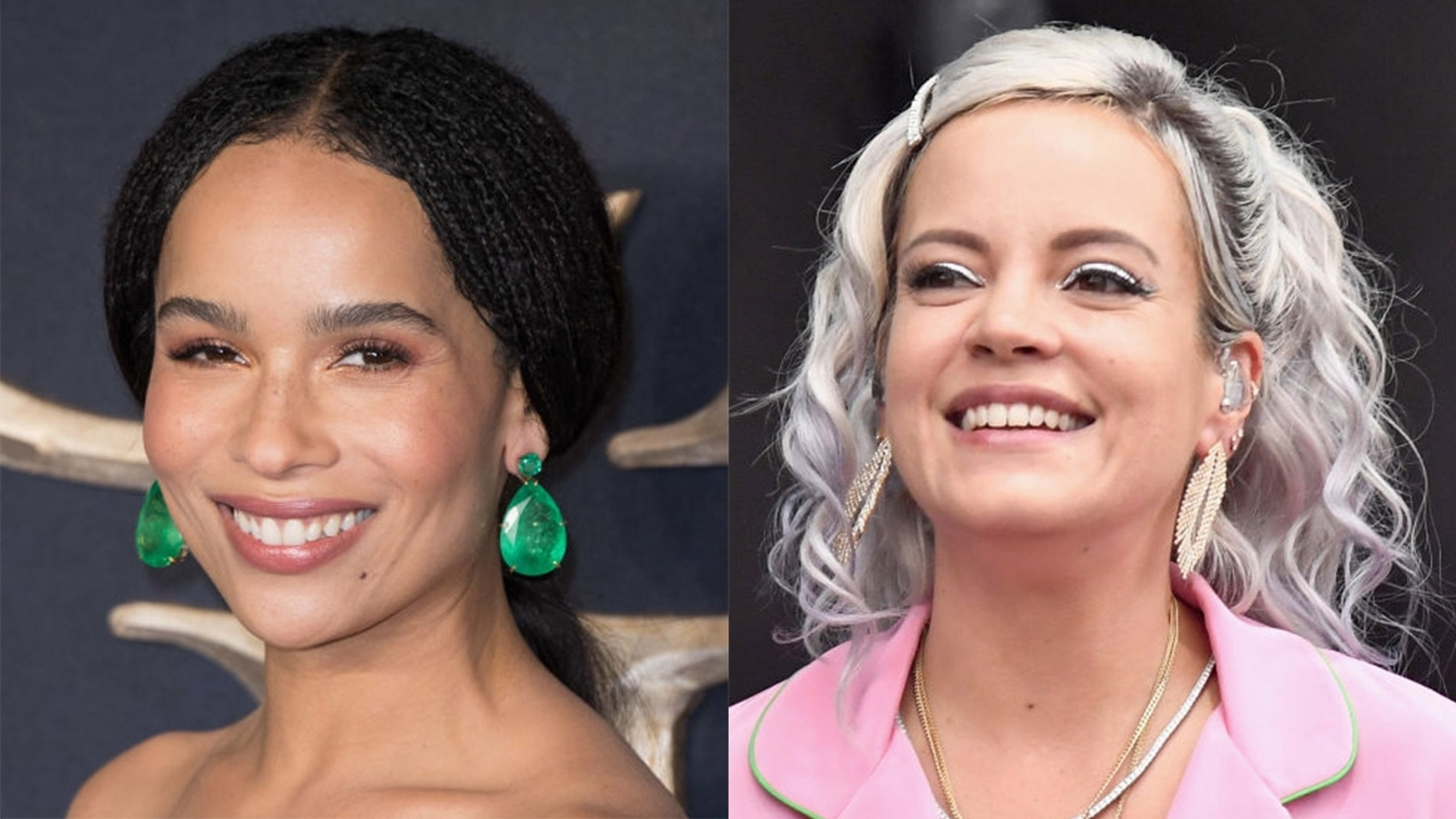 Zoe Kravitz said the kiss she shared with Lily Allen was not consensual.
