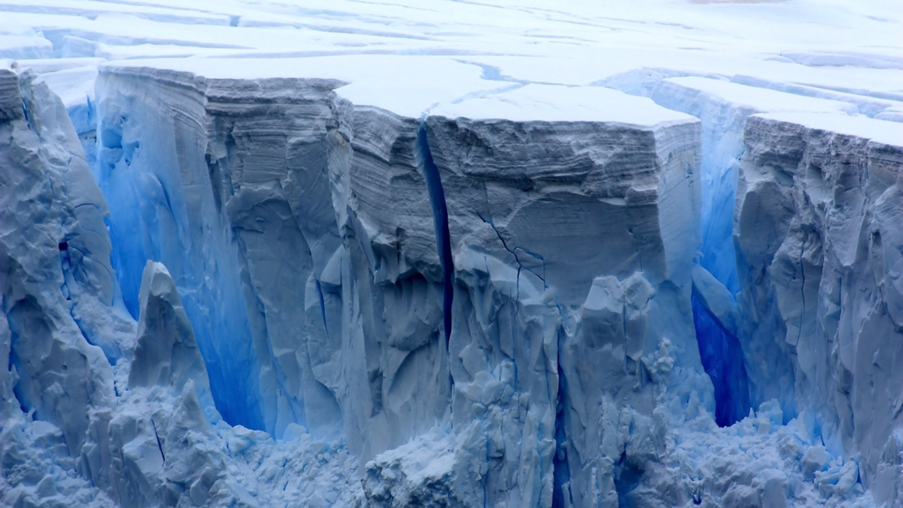 """Beneath the Antarctic ice lie the remnants of """"lost"""" continents."""