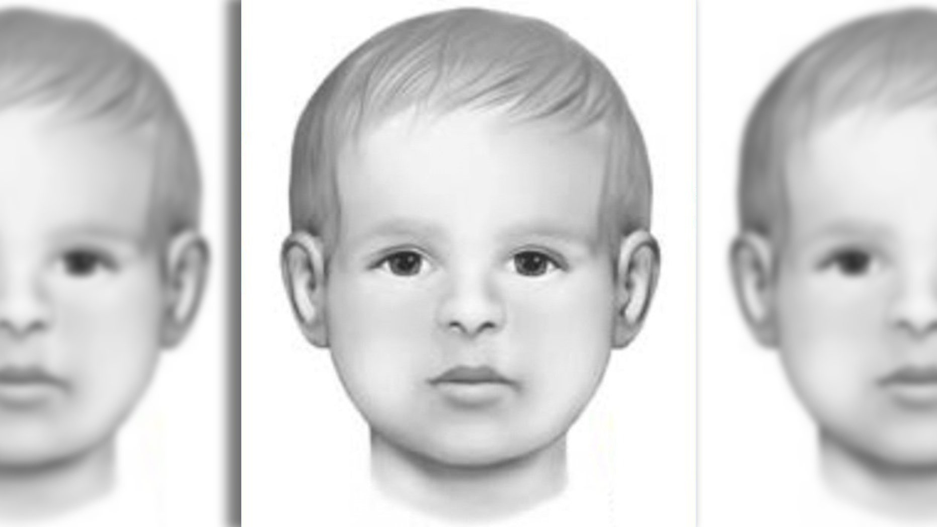 This image of Baby Doe was developed by a forensic artist.