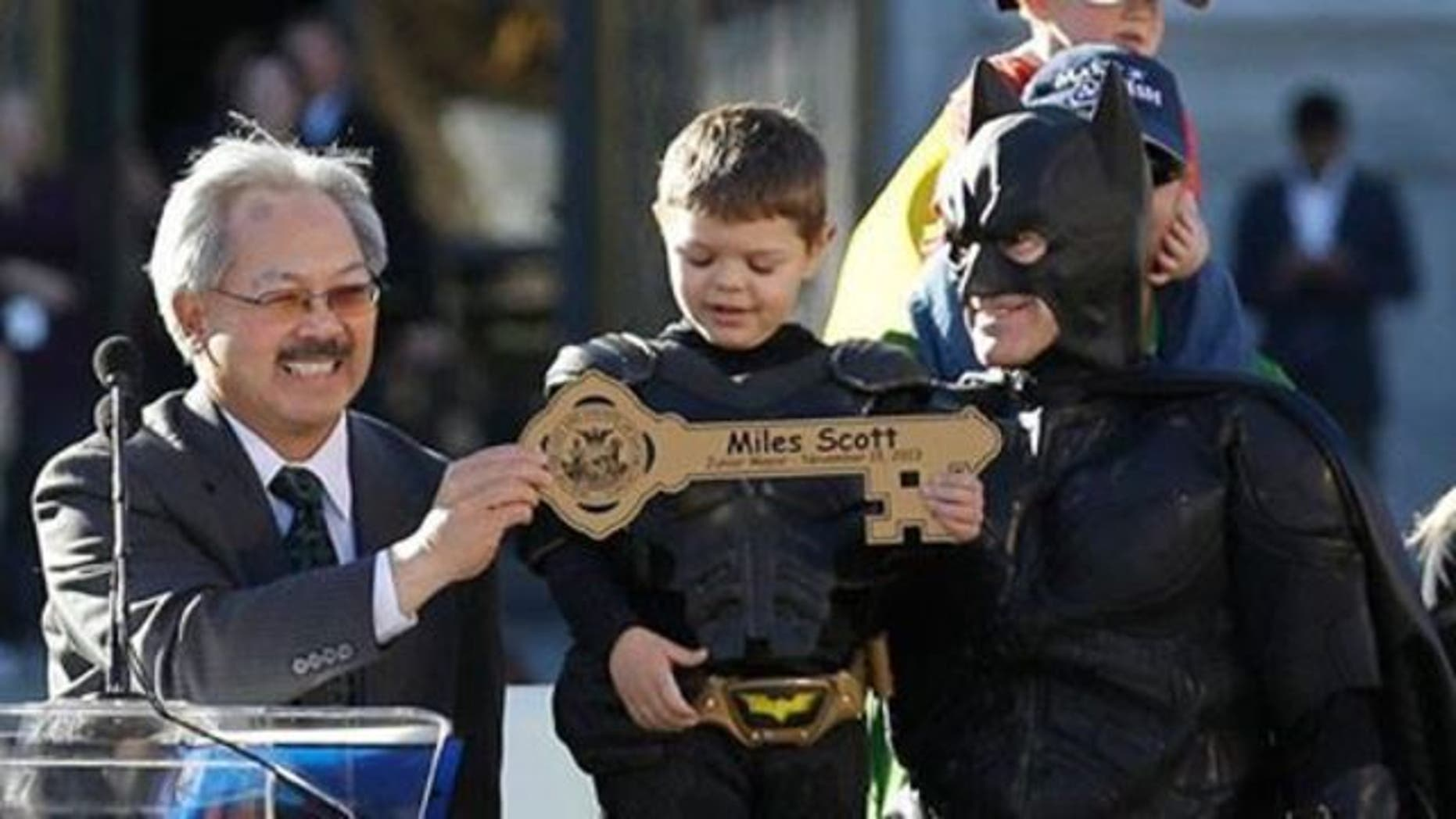BATKID Celebrates Being Cancer-Free Five Years After He Saved SAN FRANCISCO