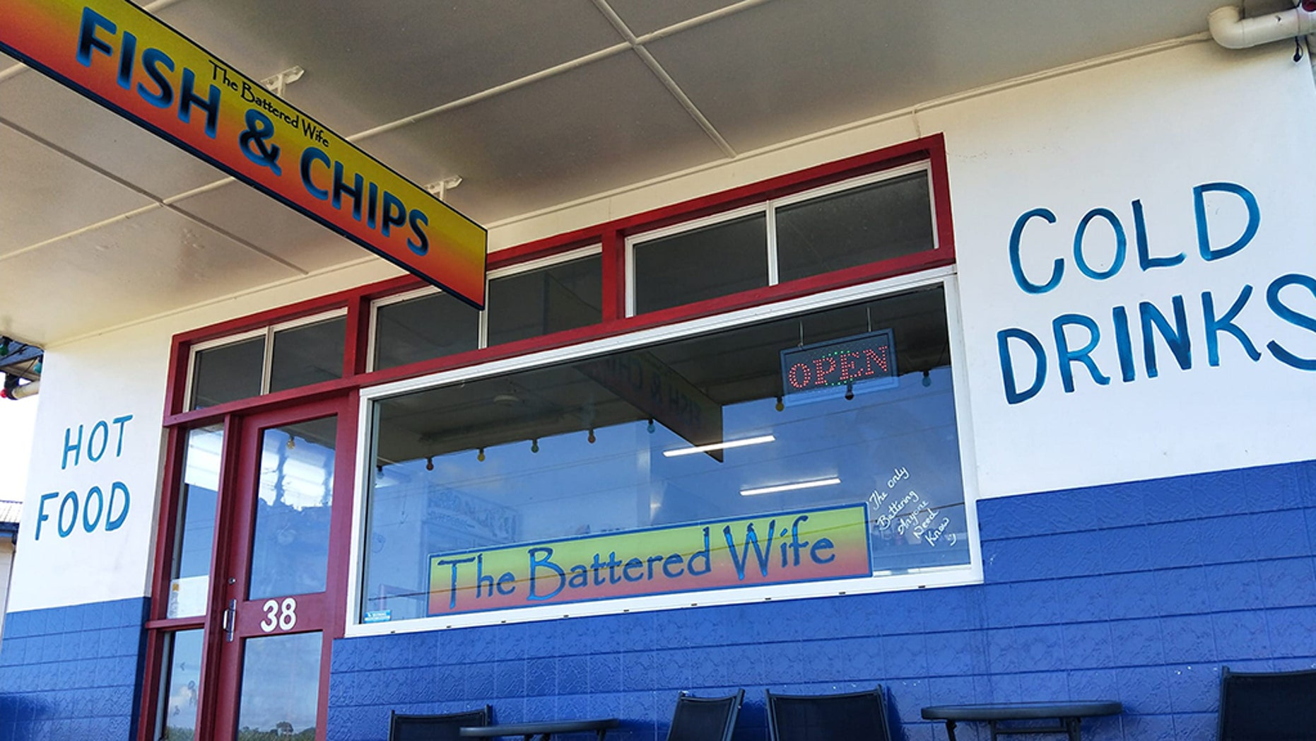 A fish and chips shop in Australia is under fire for its name.