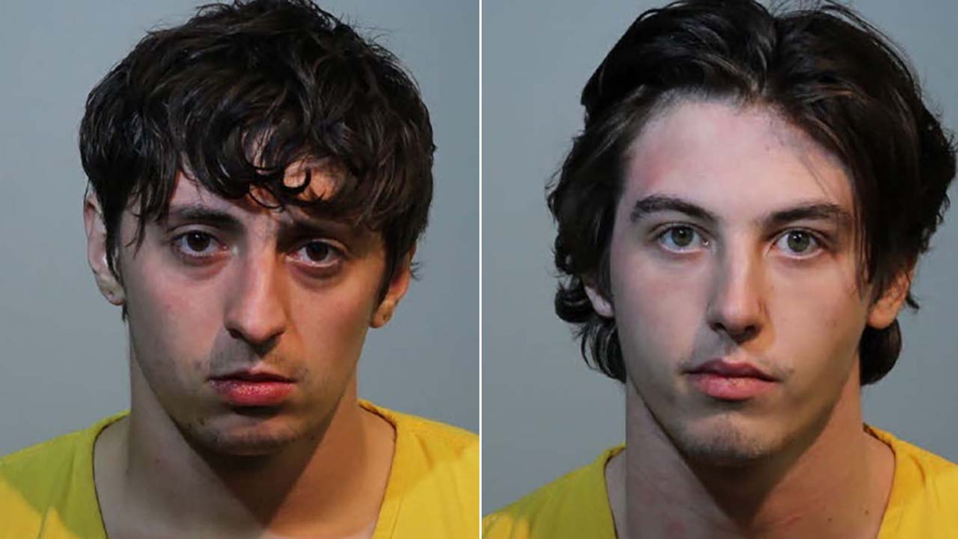 Jake Bilotta, 22, left, and his roommate, 21-year-old Ian McClurg allegedly lured a former roommate to a Maitland, Fla., home and stabbed him to death over a stolen PlayStation console, police said.