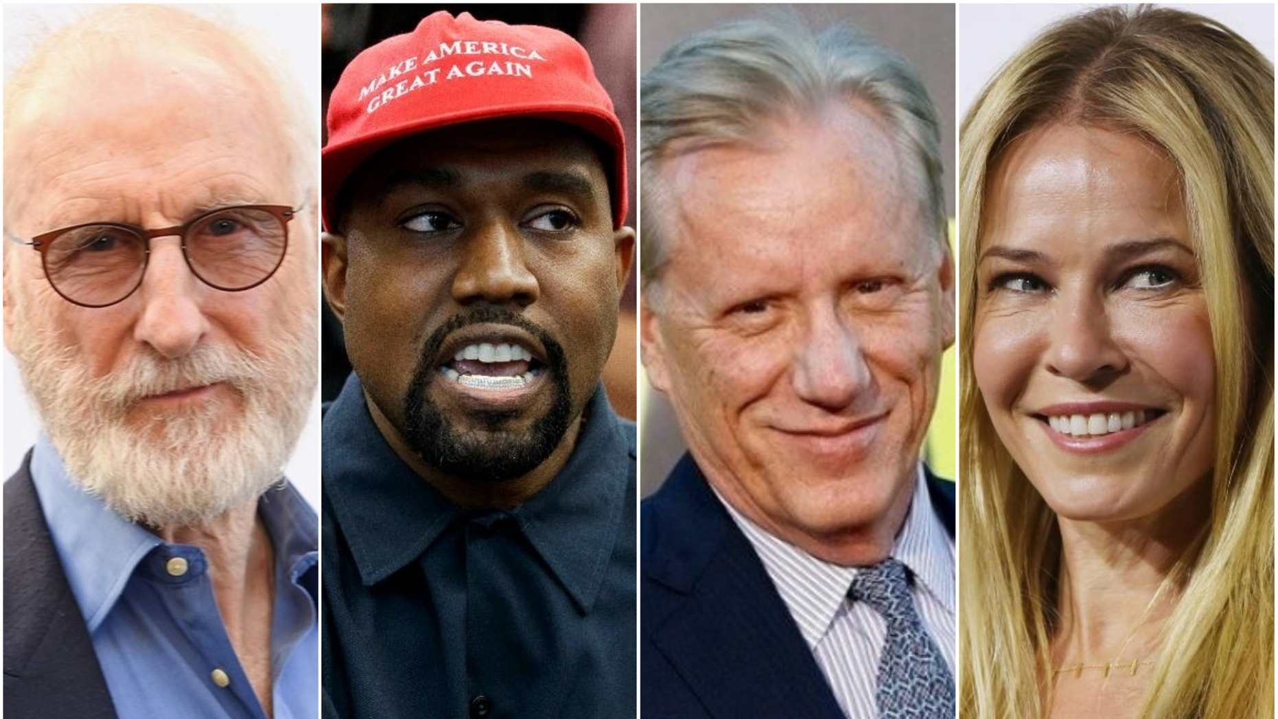 Celebrities are coming out to voice support for their respective parties ahead of election night.