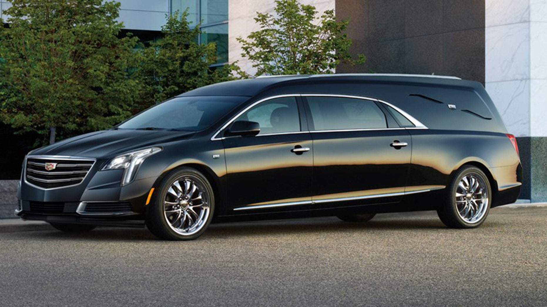 GM Fleet offers a version of the Cadillac XTS prepped for conversion into a hearse.