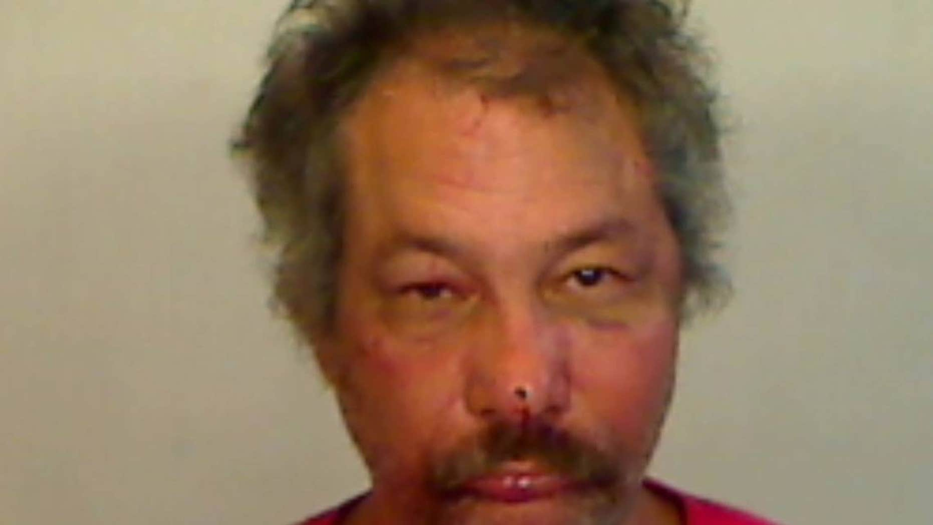 Aurelio Rodriguez was arrested and charged with aggravated battery, according to reports.