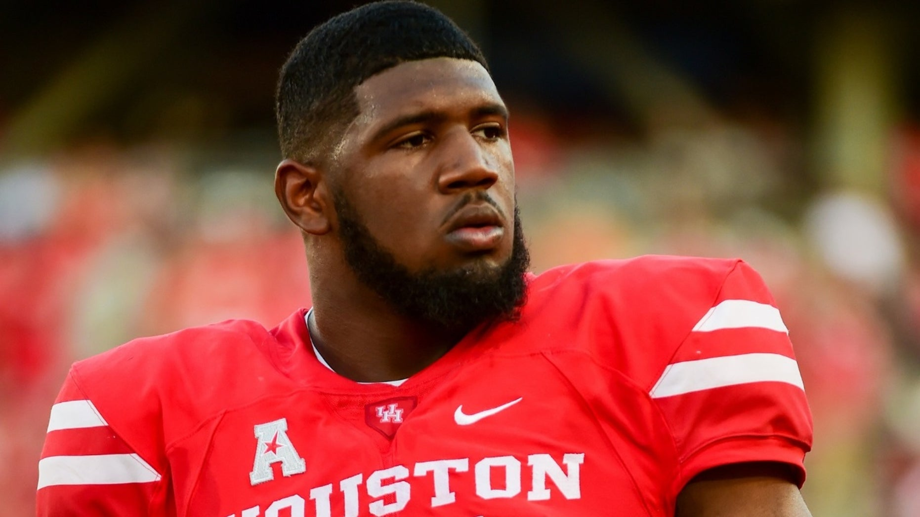 Ed Oliver got into a heated argument with his coach over a coat on Thursday, Nov. 15, 2018.