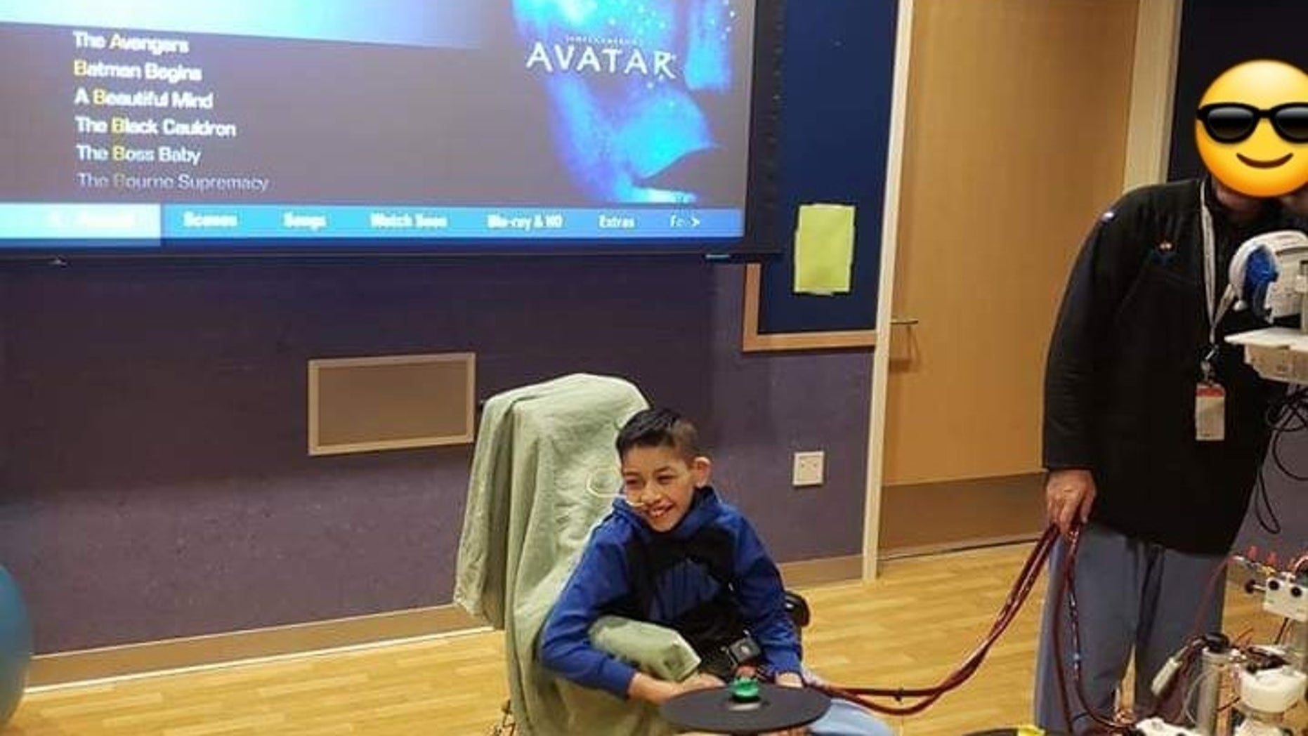 Fernando Hernandez, 9, first started showing flu-like symptoms in January but wasn't diagnosed with Hantavirus until late February.