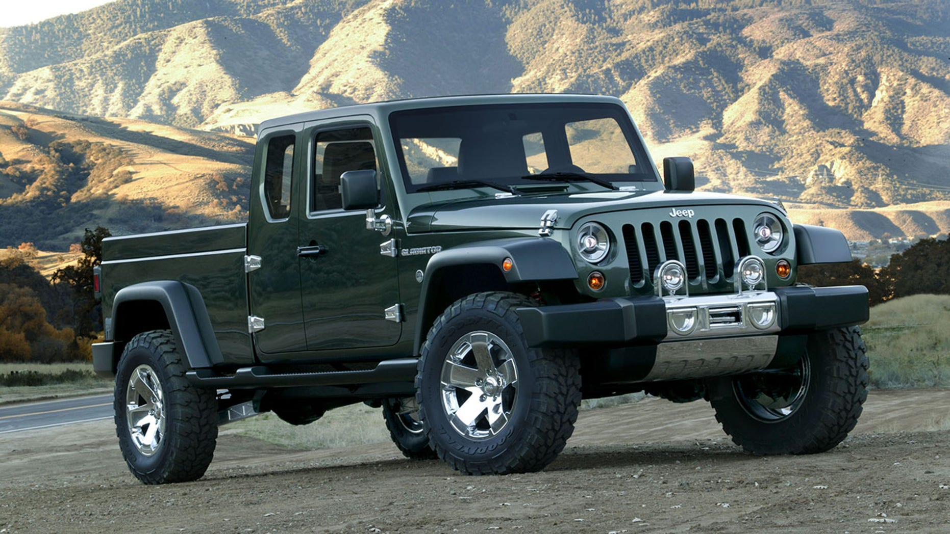 The 2005 Gladiator previewed the idea for the new truck