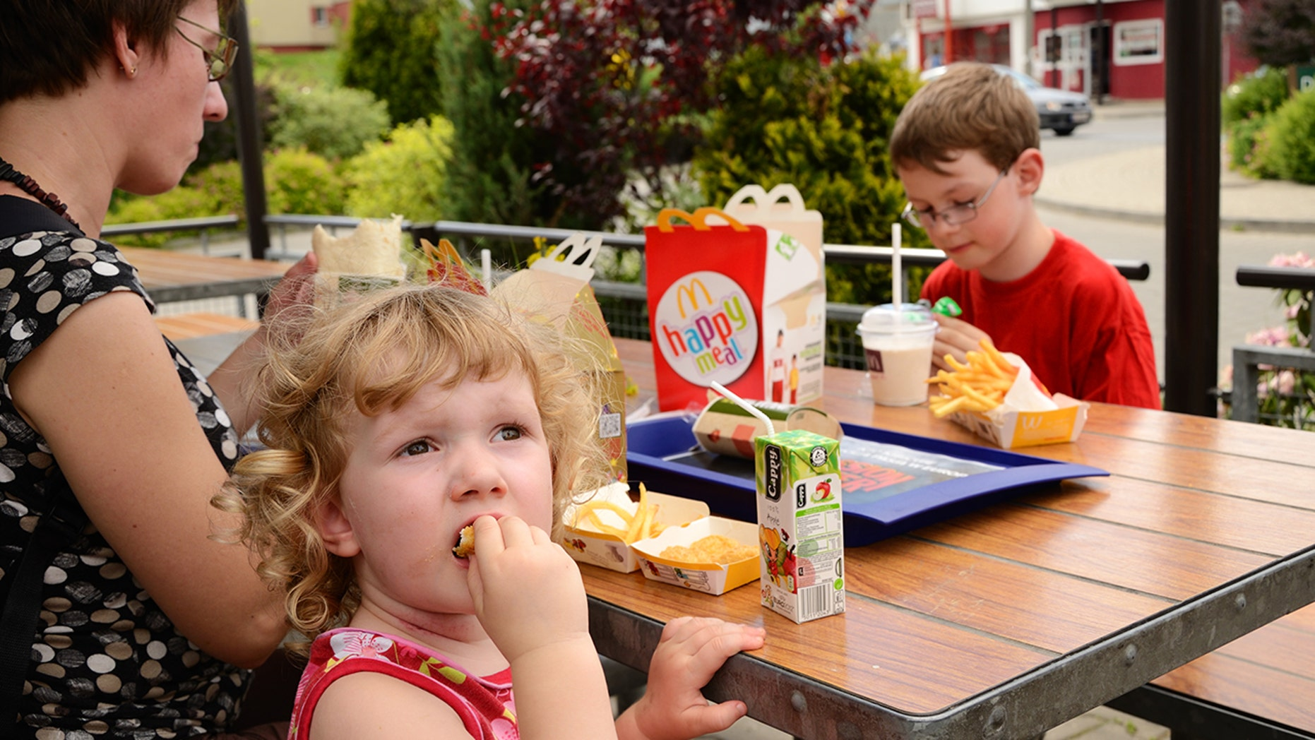 McDonald's in Canada is being sued for marketing Happy Meals to children under 13.