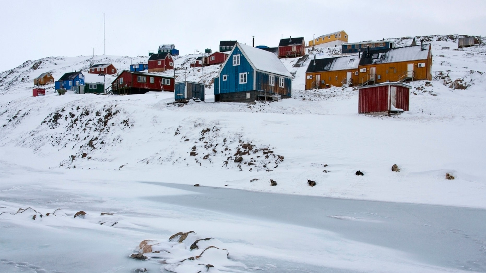 """Just 450 people live in the town of Ittoqqortoormiit, Greenland -- the home of the """"most remote hotel in the world."""""""