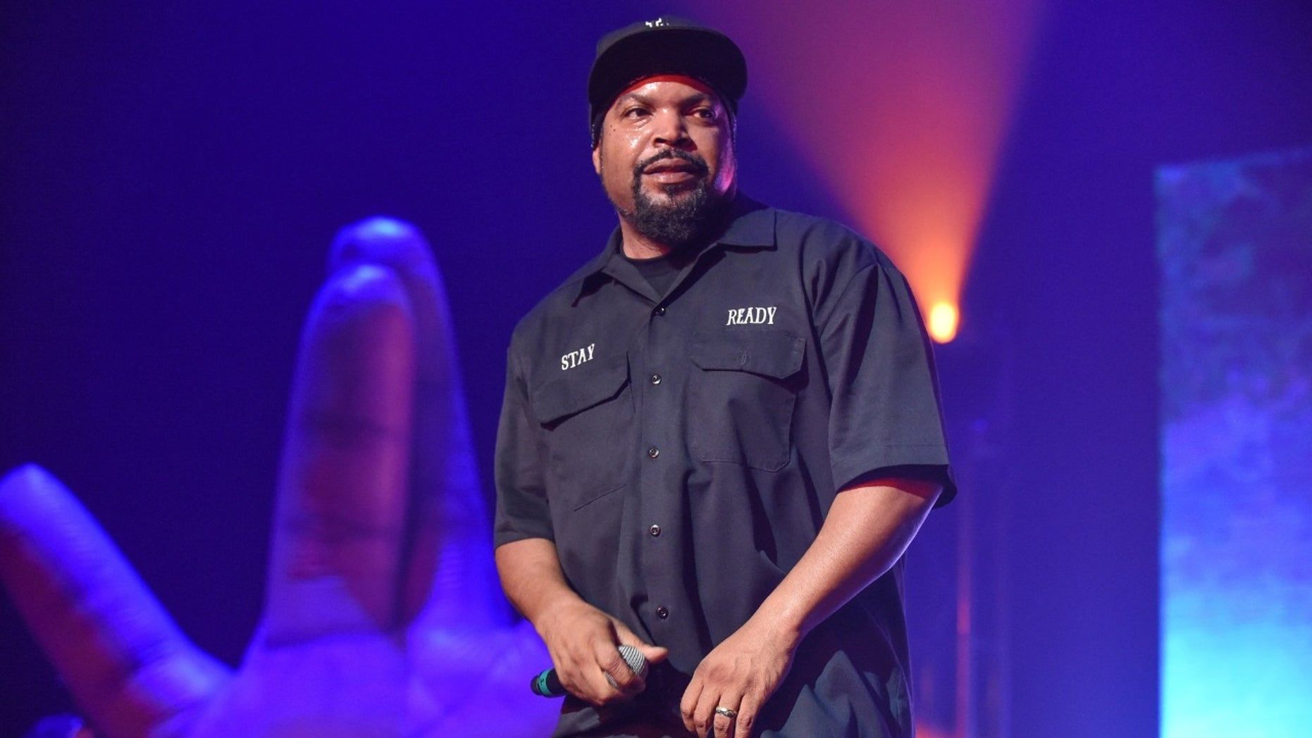 "Ice Cube teased his new single, ""Arrest the President."""
