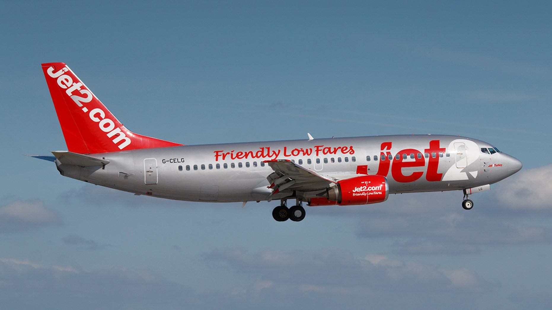 A stressed pilot completing his training is to blame for a botched Jet2 landing that caused damage to the aircraft.