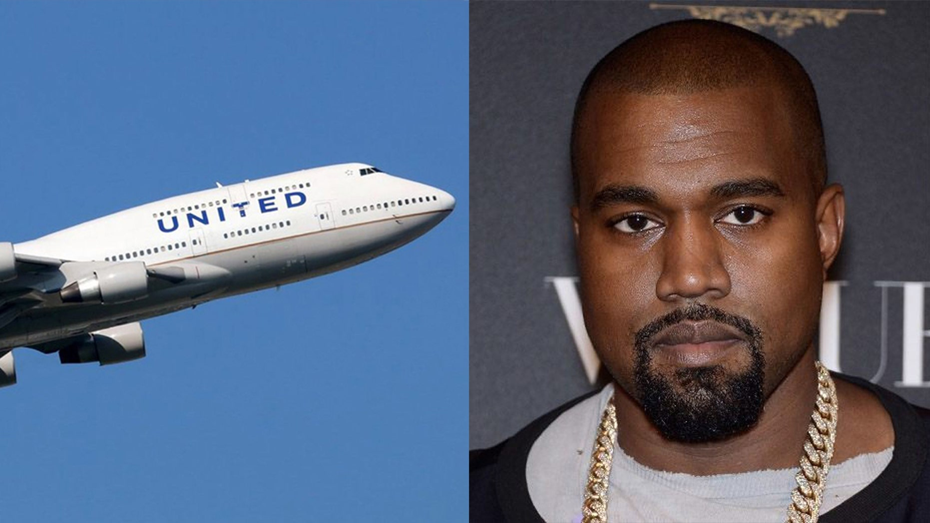 """No big deal just taking a private 747 this is how [Kanye] does it now. Only 747s. Private. I've never even heard of this but whatever,"" the rapper's wife Kim Kardashian said on Instagram."