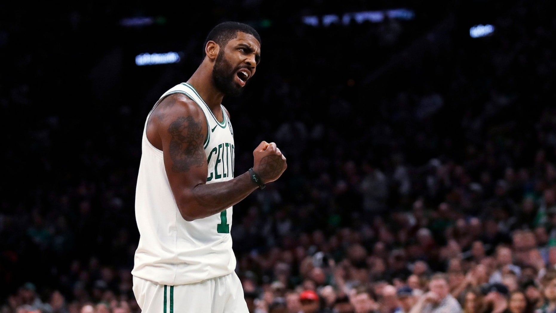 Celtics star Irving apologises after 'F*** THANKSGIVING' comments
