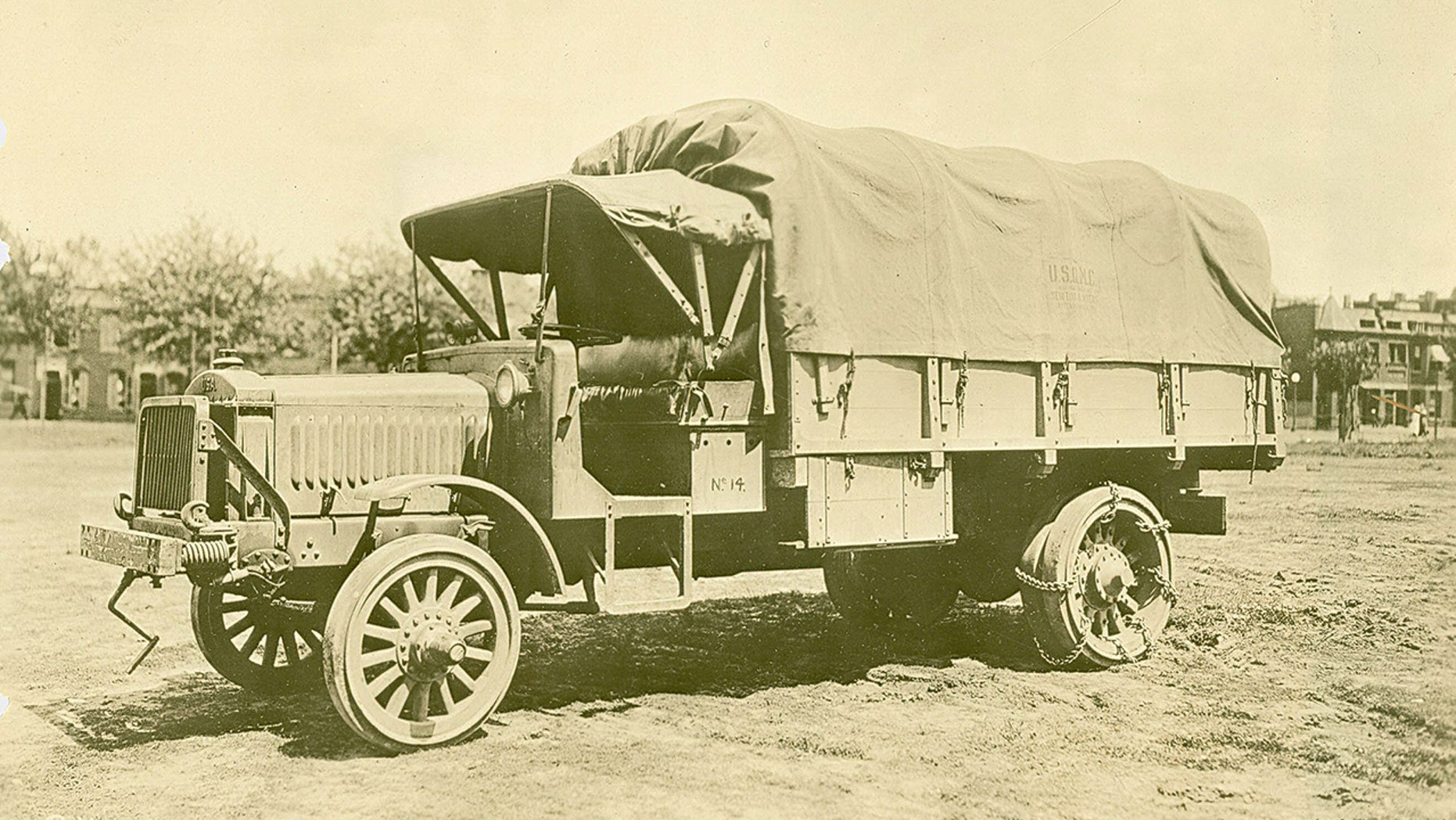 The World War 1 Liberty Truck put the U S  Military on wheels | Fox News