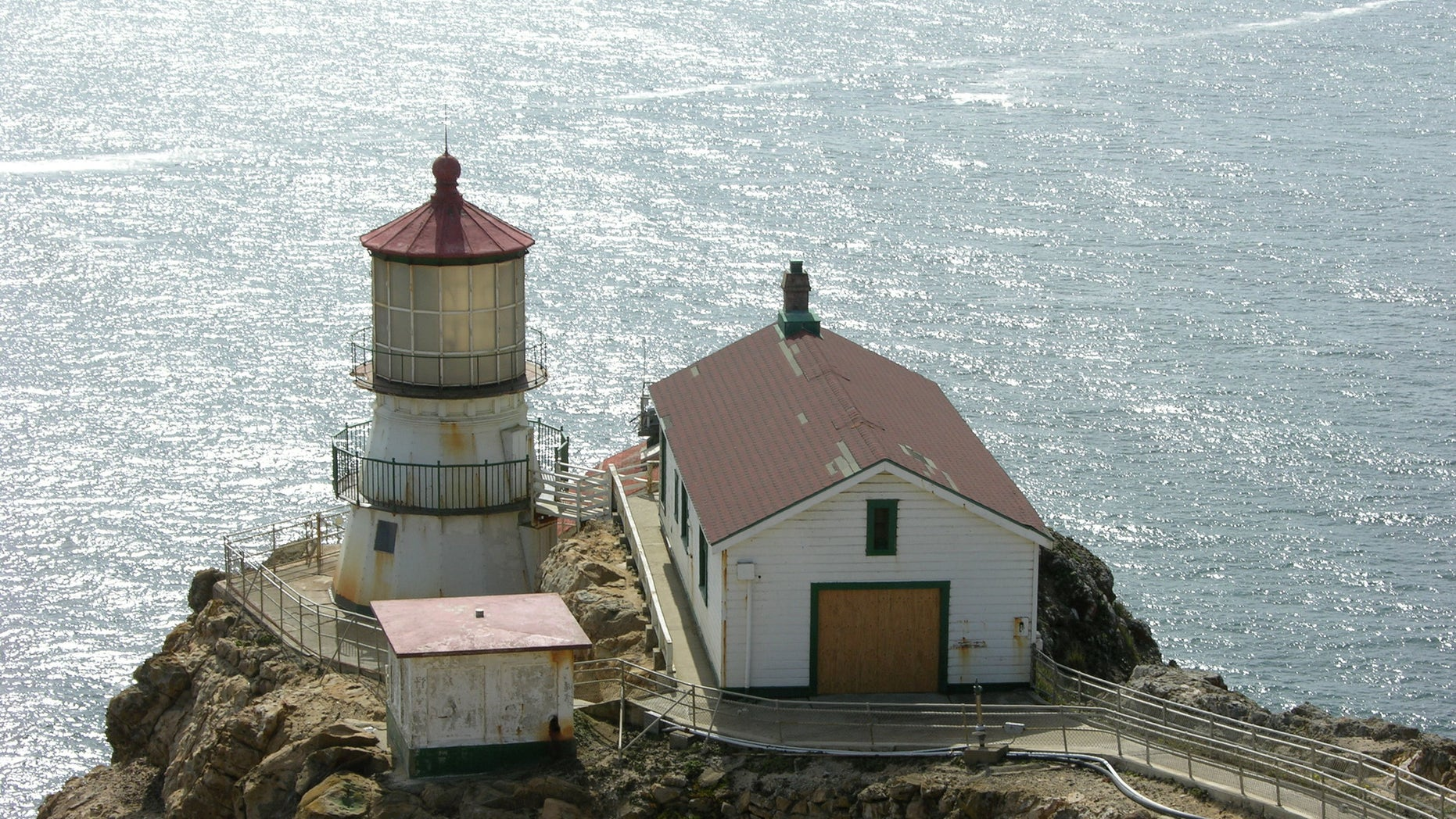 Construction workers found a time capsule hidden behind a wooden plank inside a wall of the Point Reyes National Lighthouse in California in October 2018.